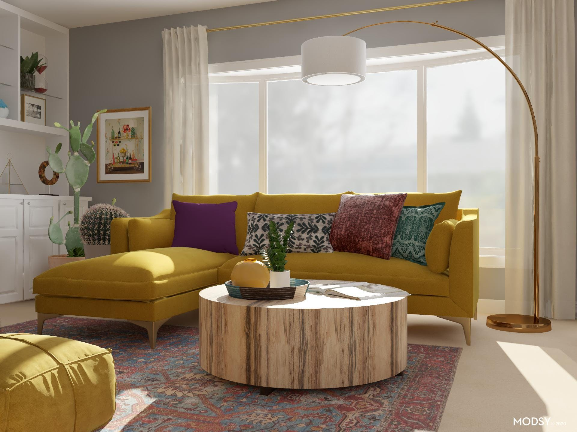 Vibrantly Eclectic Jewel Tone Color