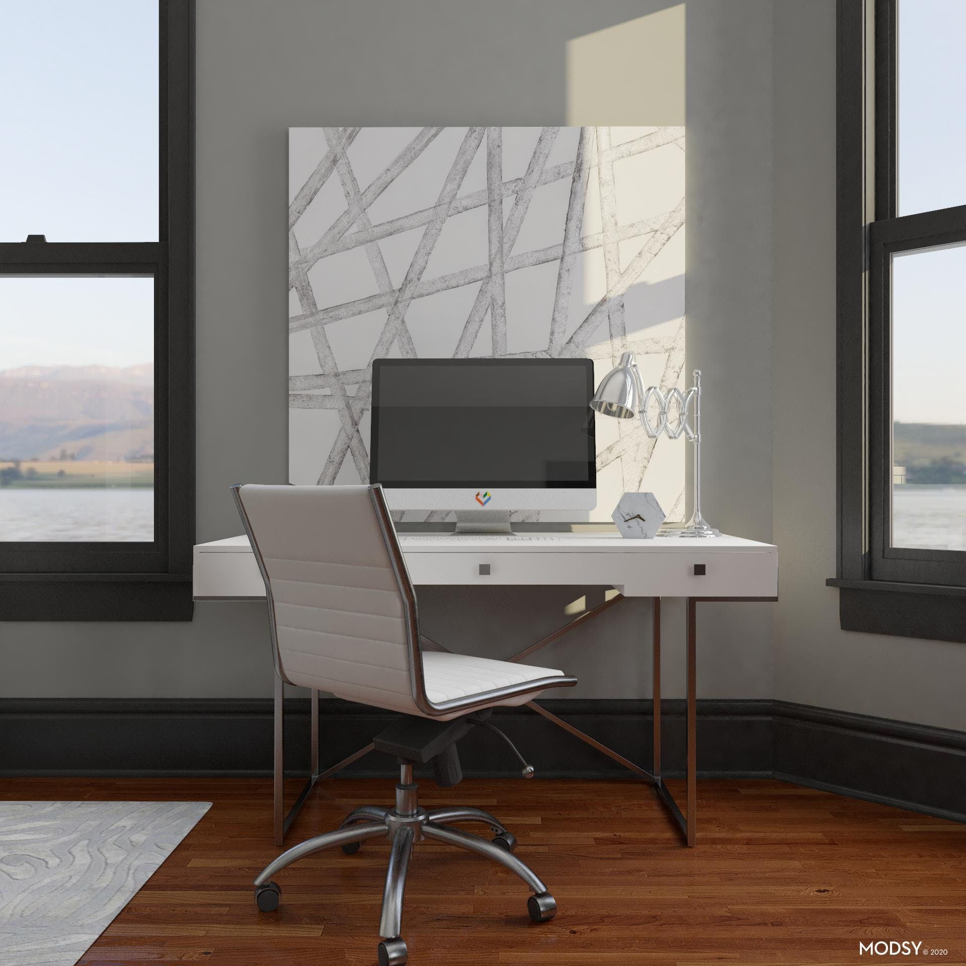 Simple Bold Workspace