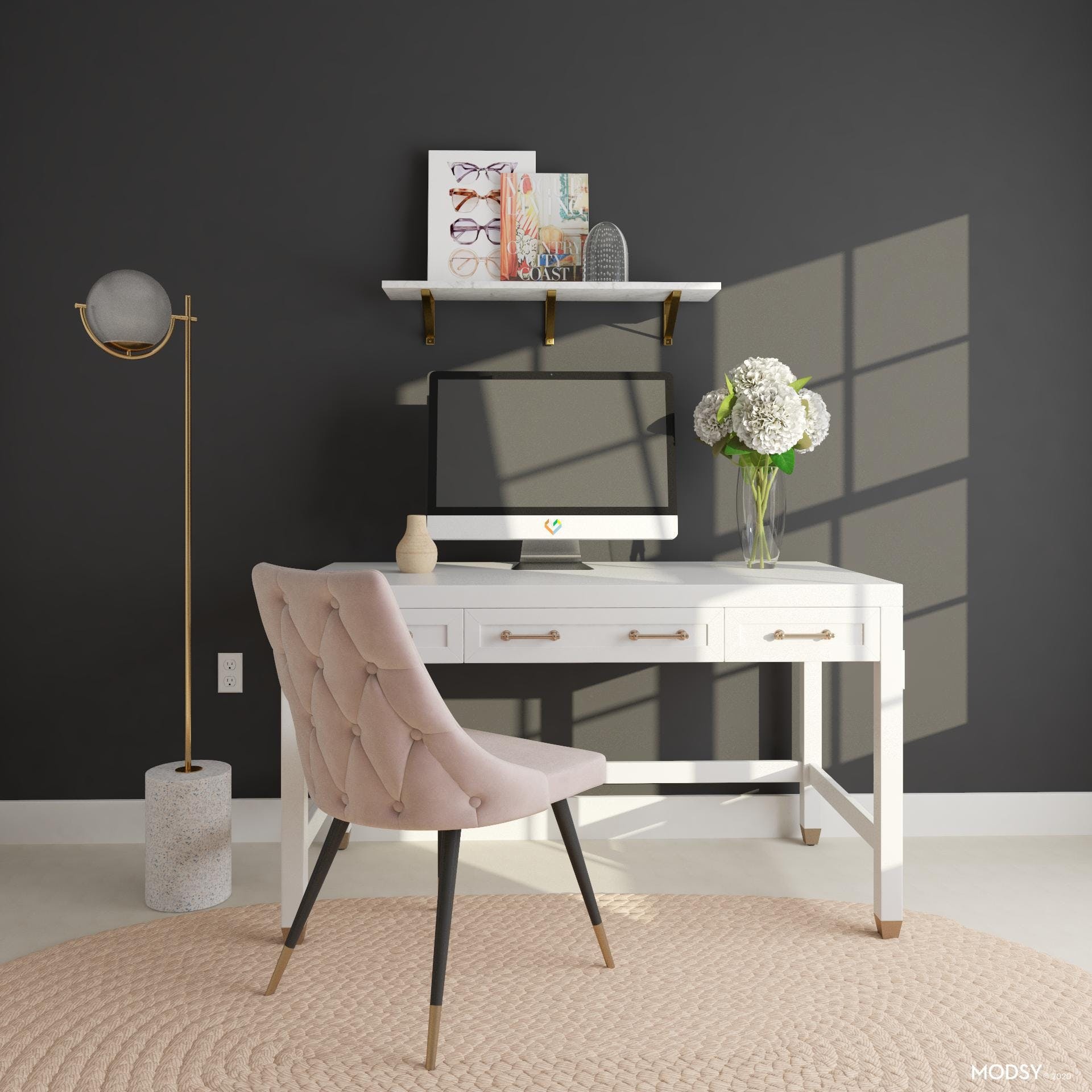 Glam It Up: Home Office Design