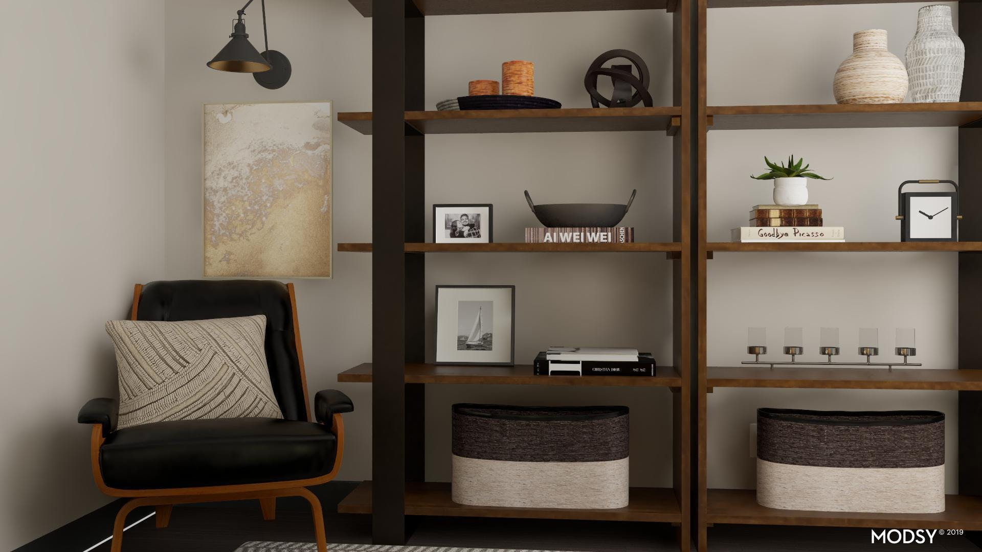 Warm & Inviting Industrial Office