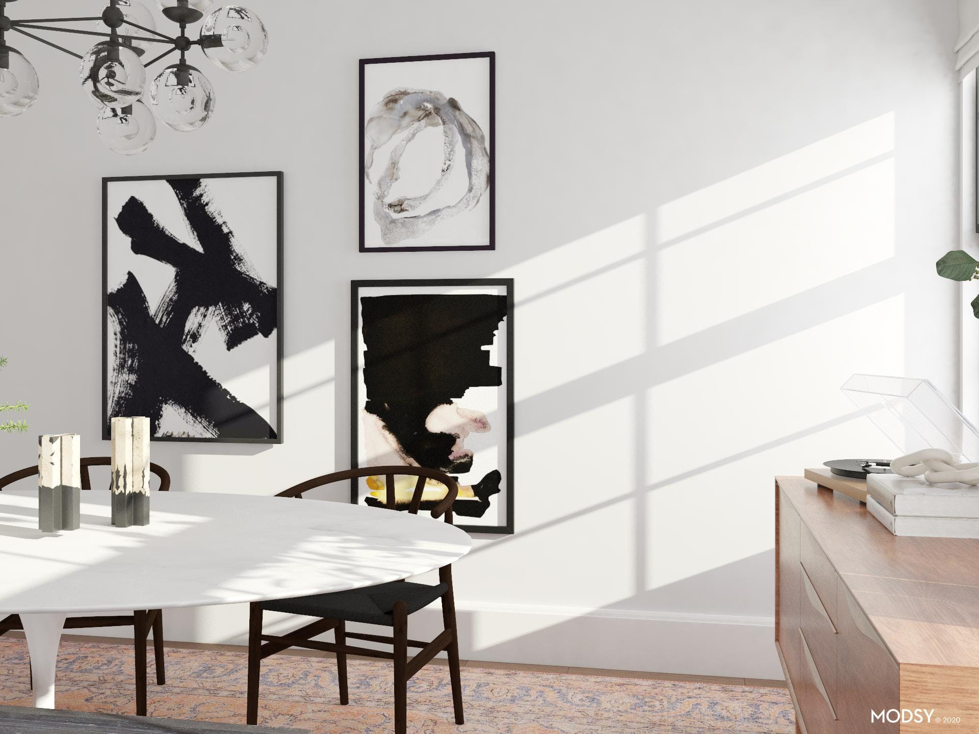 What's Black and White and Chic All Over?