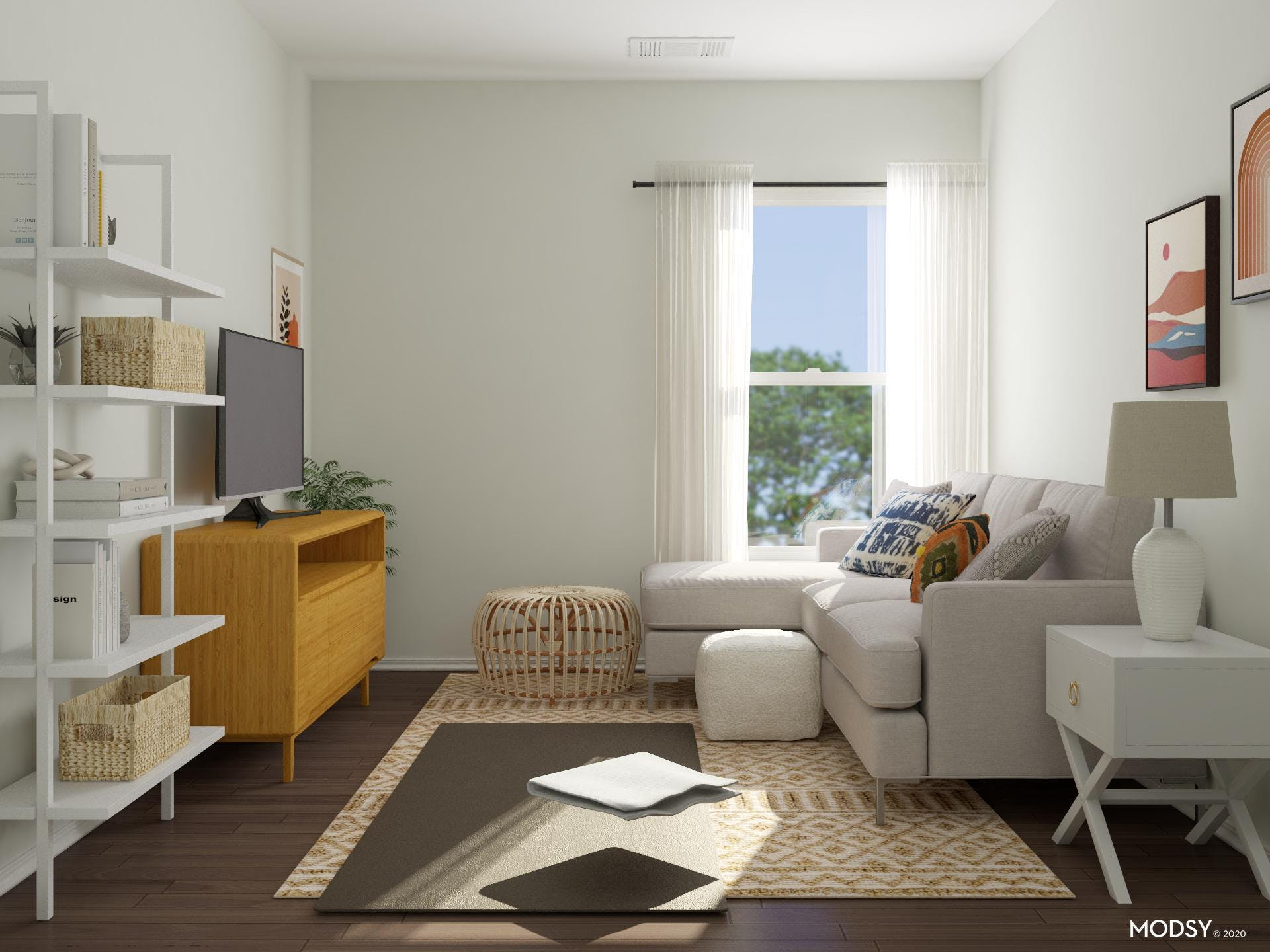 Small Living Room With Big Function