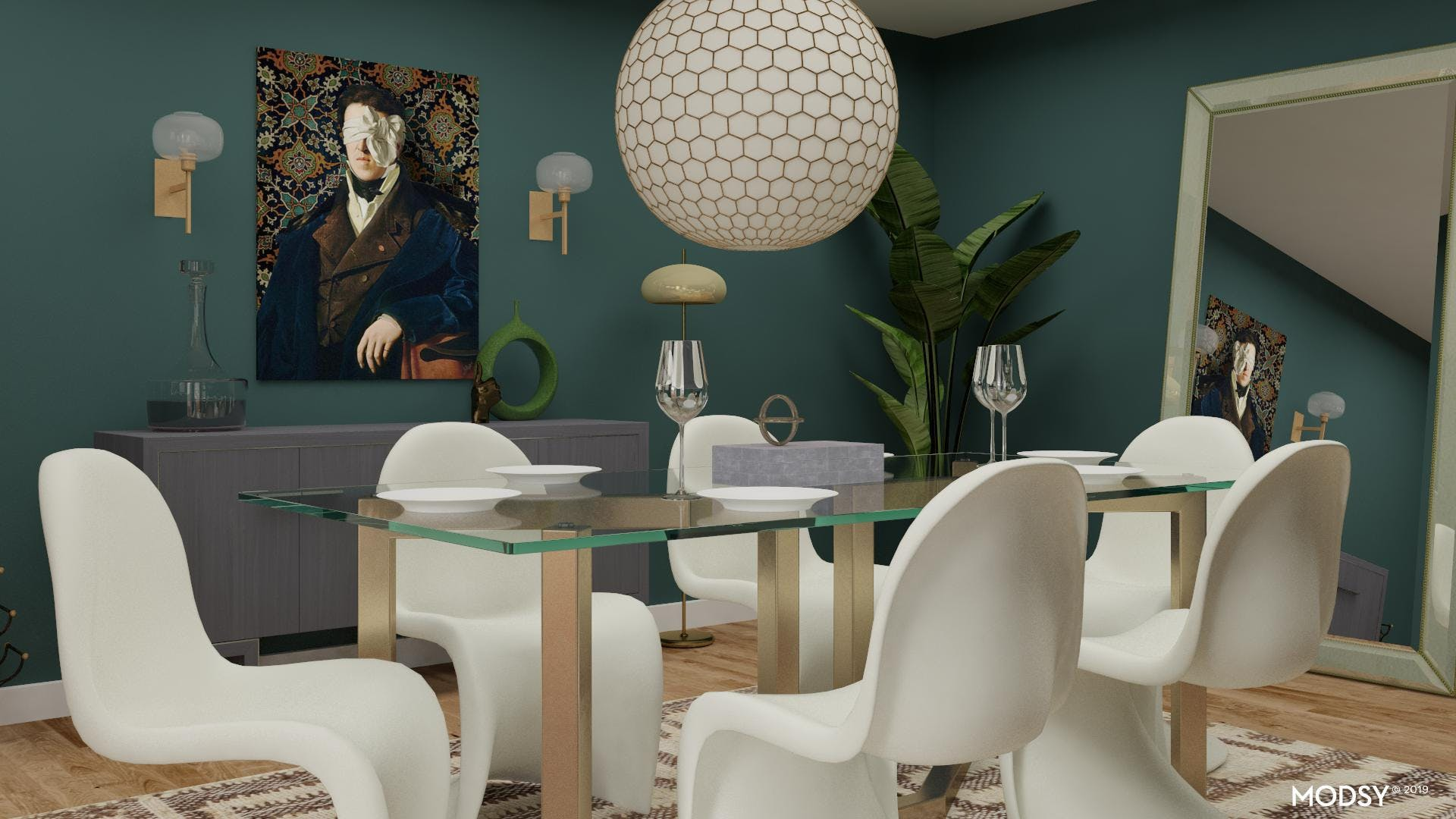 Illusions Of Space: Glam Dining