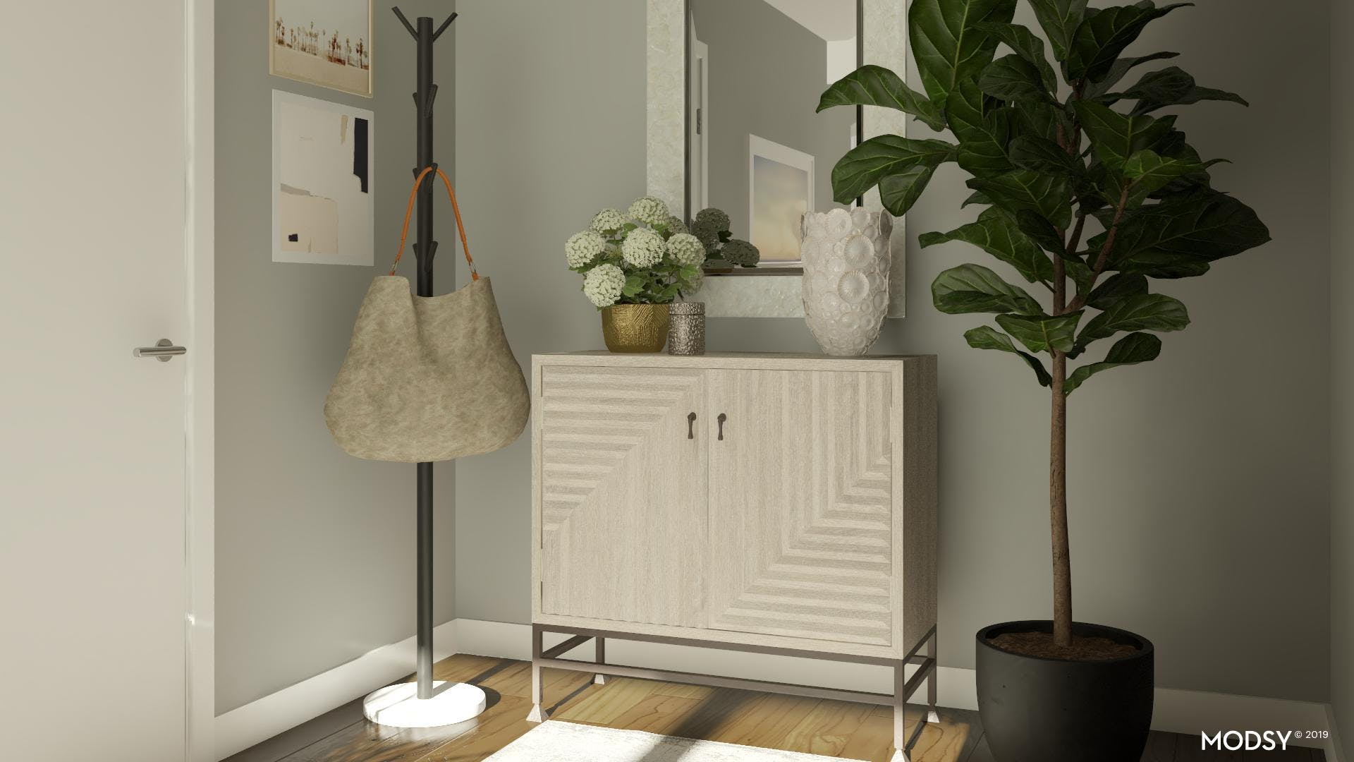 Beautiful And Functional Entryway
