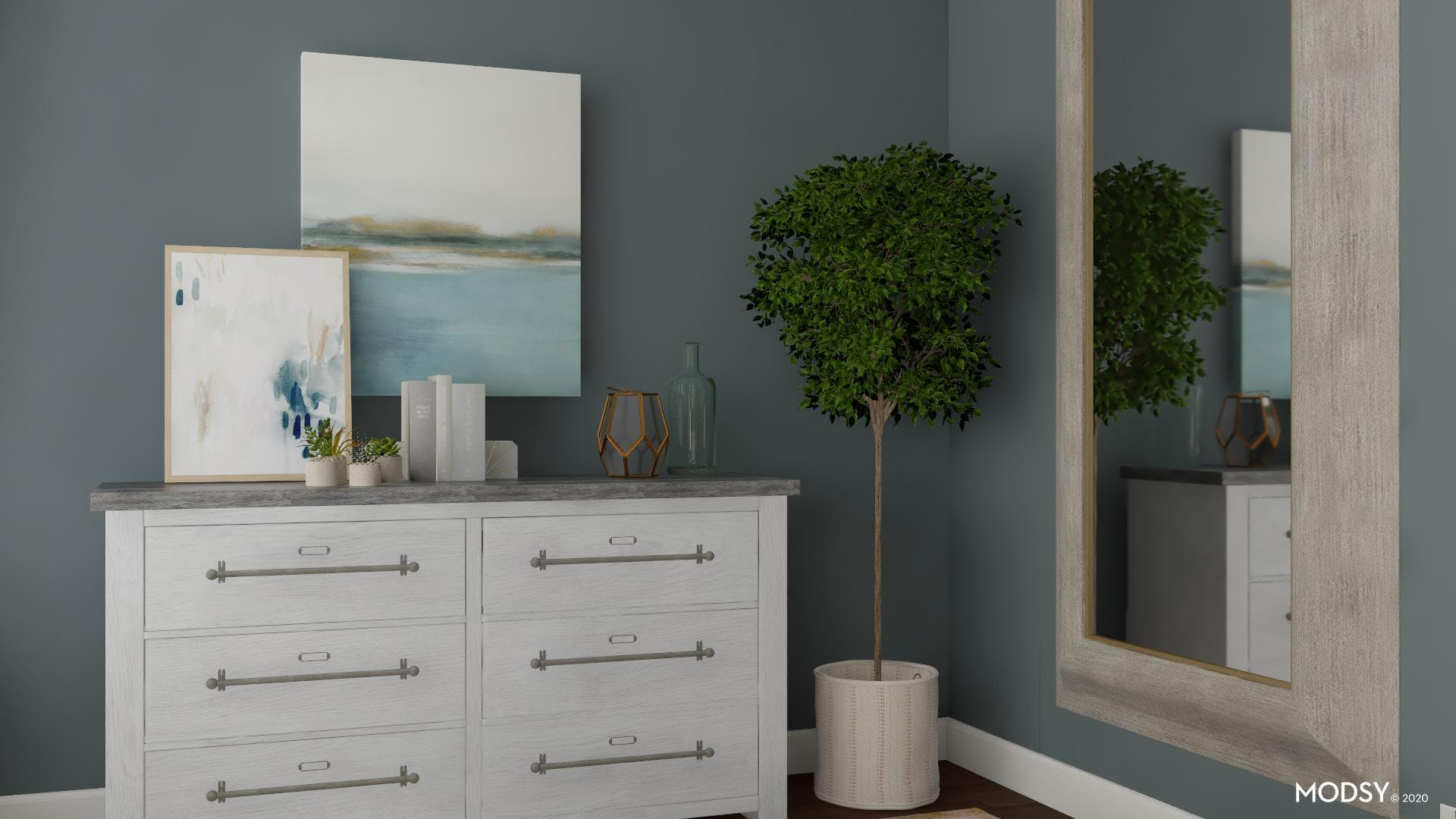 A Transitional Dressing Room