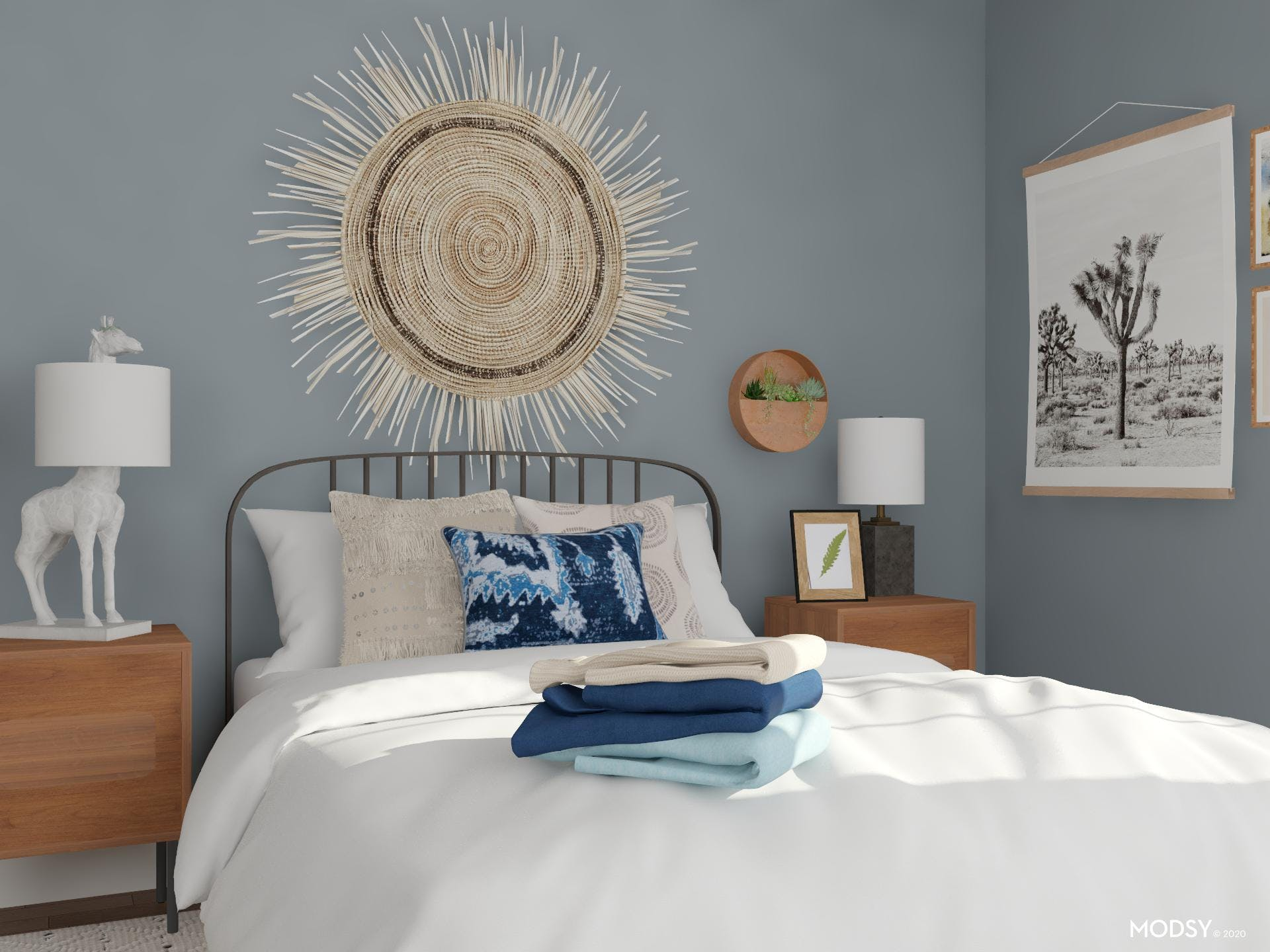 Creating a Focal Point in a Small Bedroom