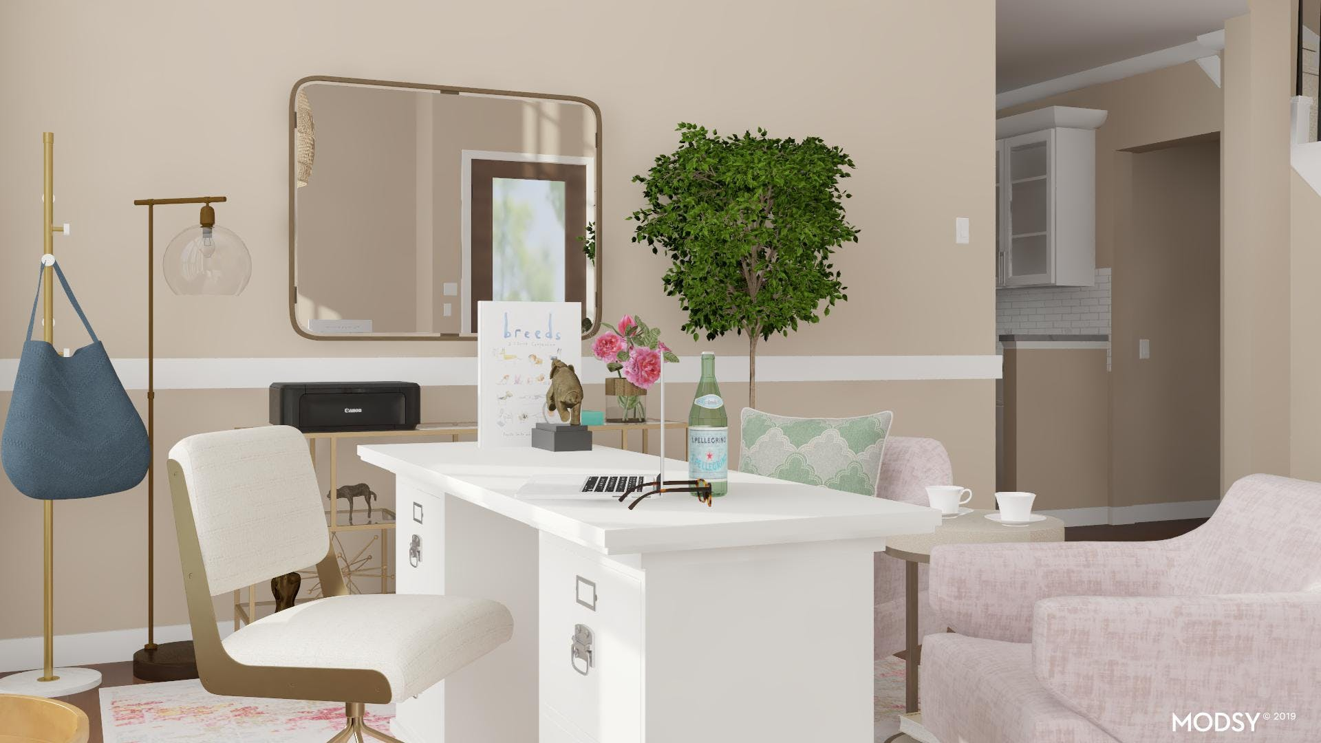 Professional Pastels: Home Office