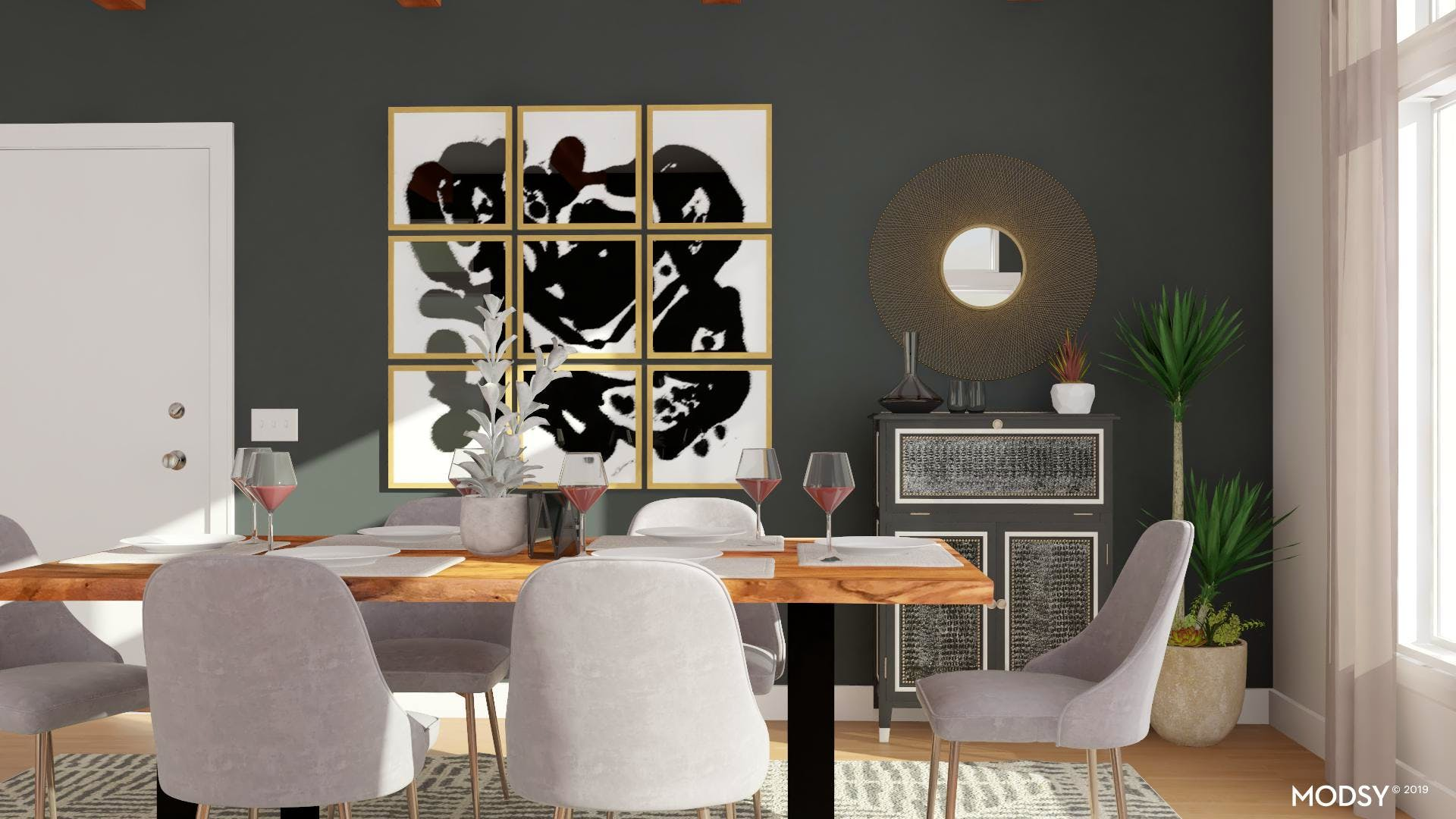 Trends In A Timeless Space | Modern-Style Dining Room Design ...