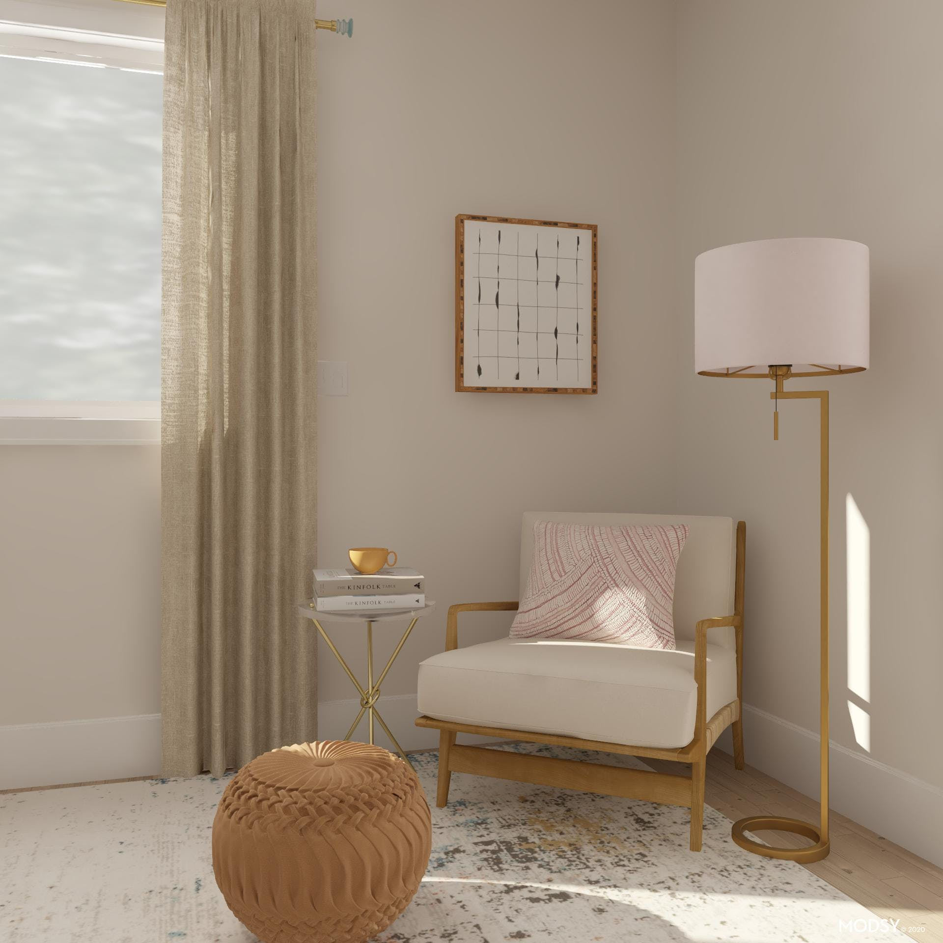 Highlighting Neutrals with Pastels