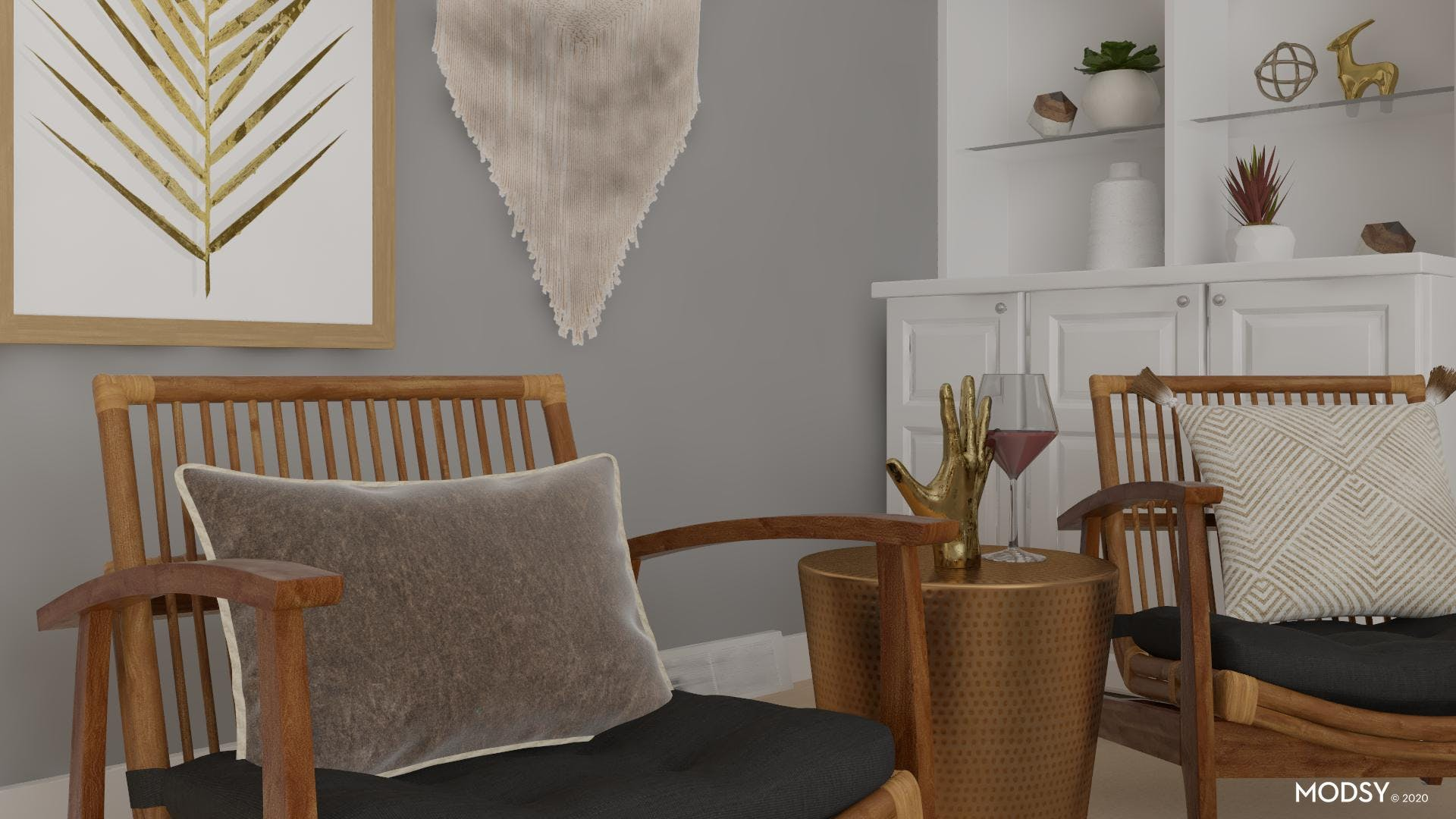 Natural Neutrals with an Eclectic Touch