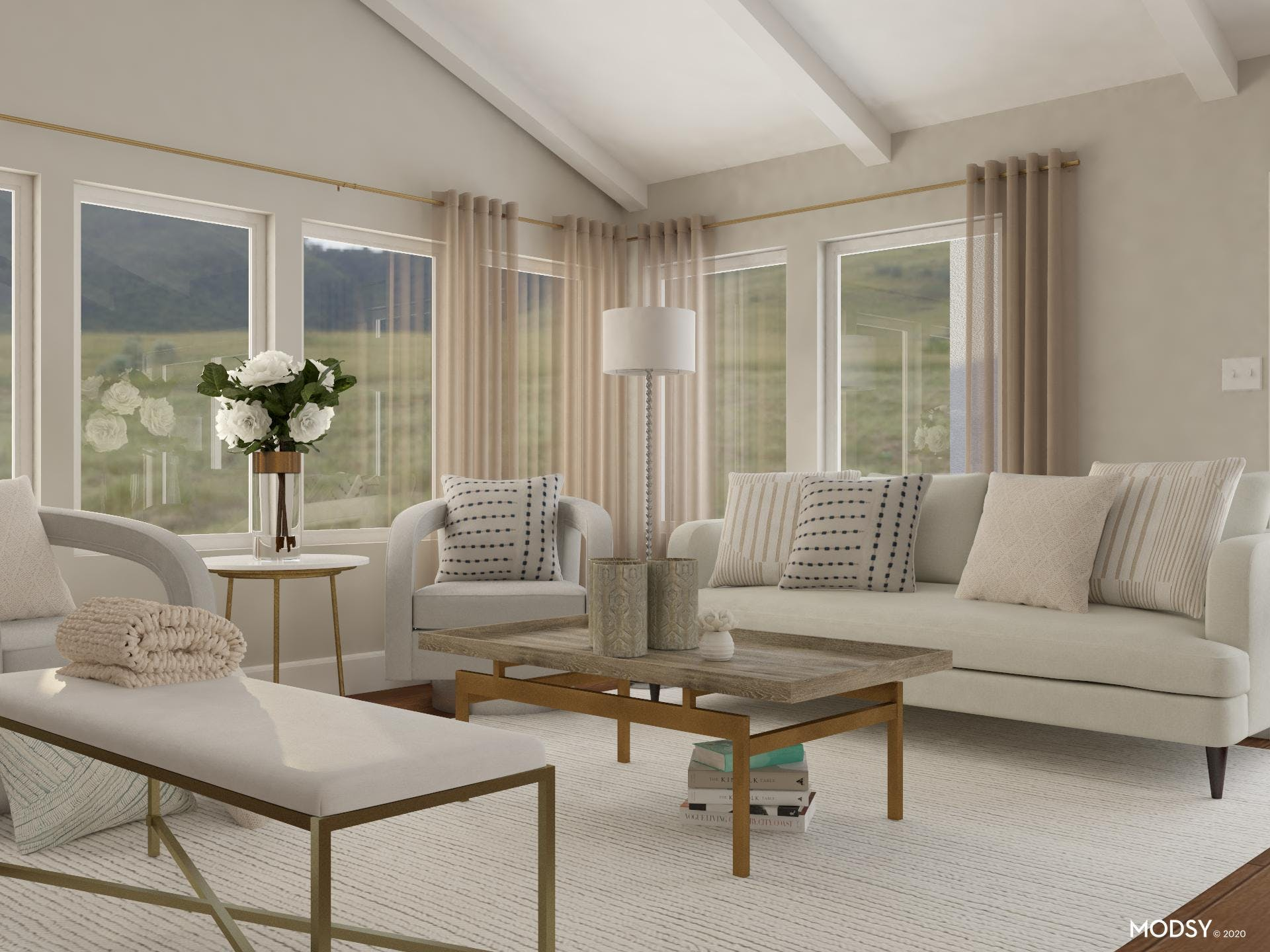 Ample Seating: Living Room