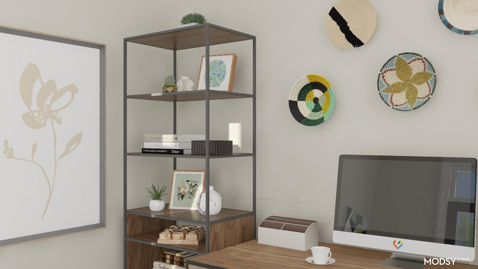 Office Storage with Personality