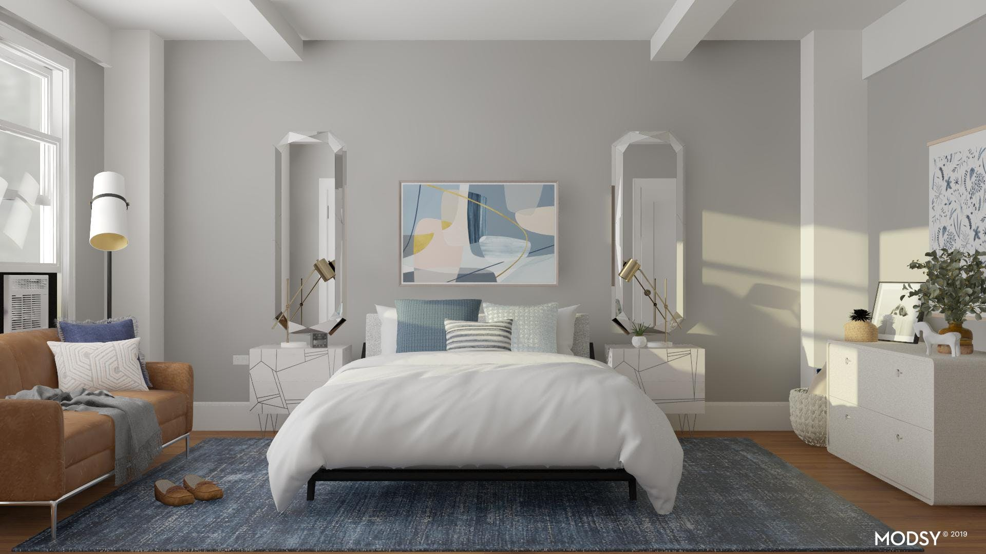 A Beautiful and Inviting Modern Bedroom