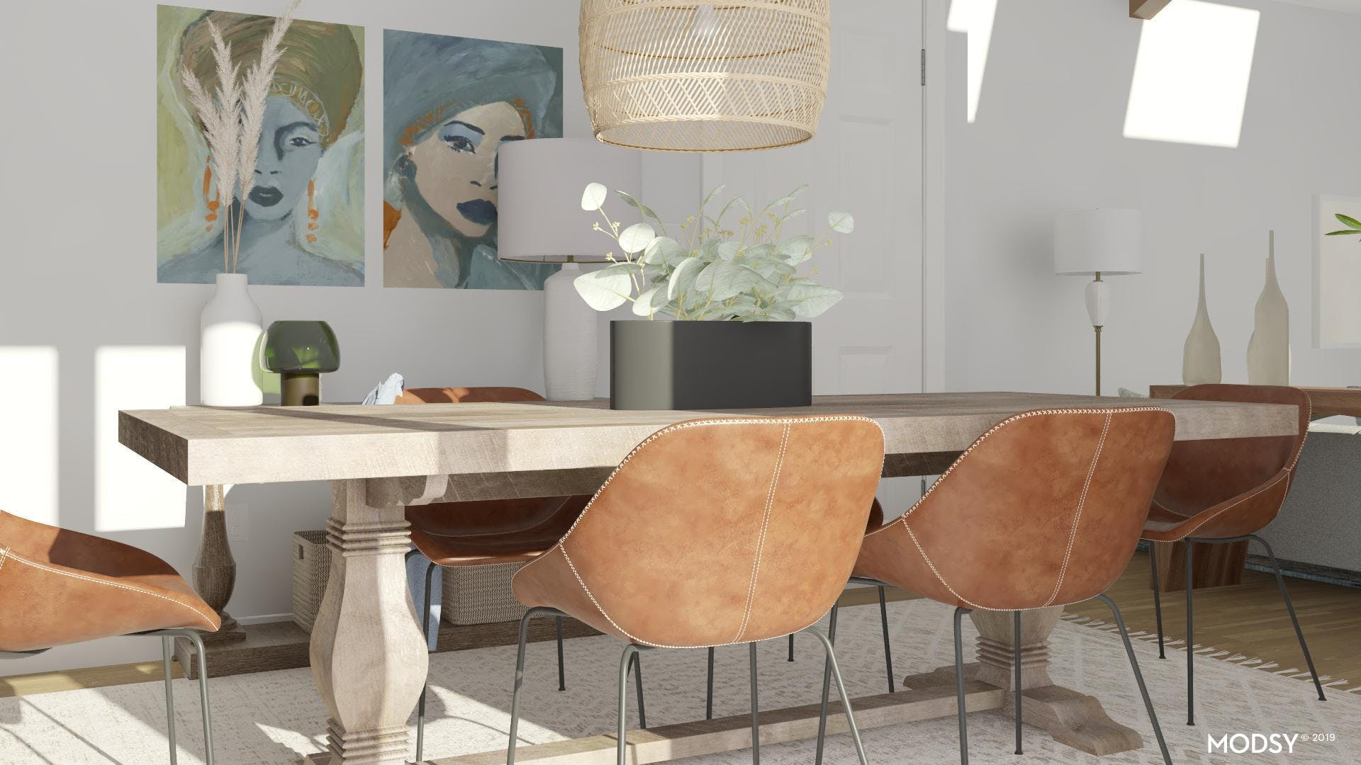 Statement Wall Art In Your Dining Space
