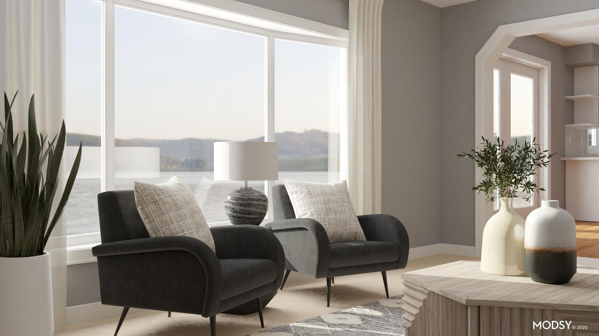 Neutral Eclectic Seating