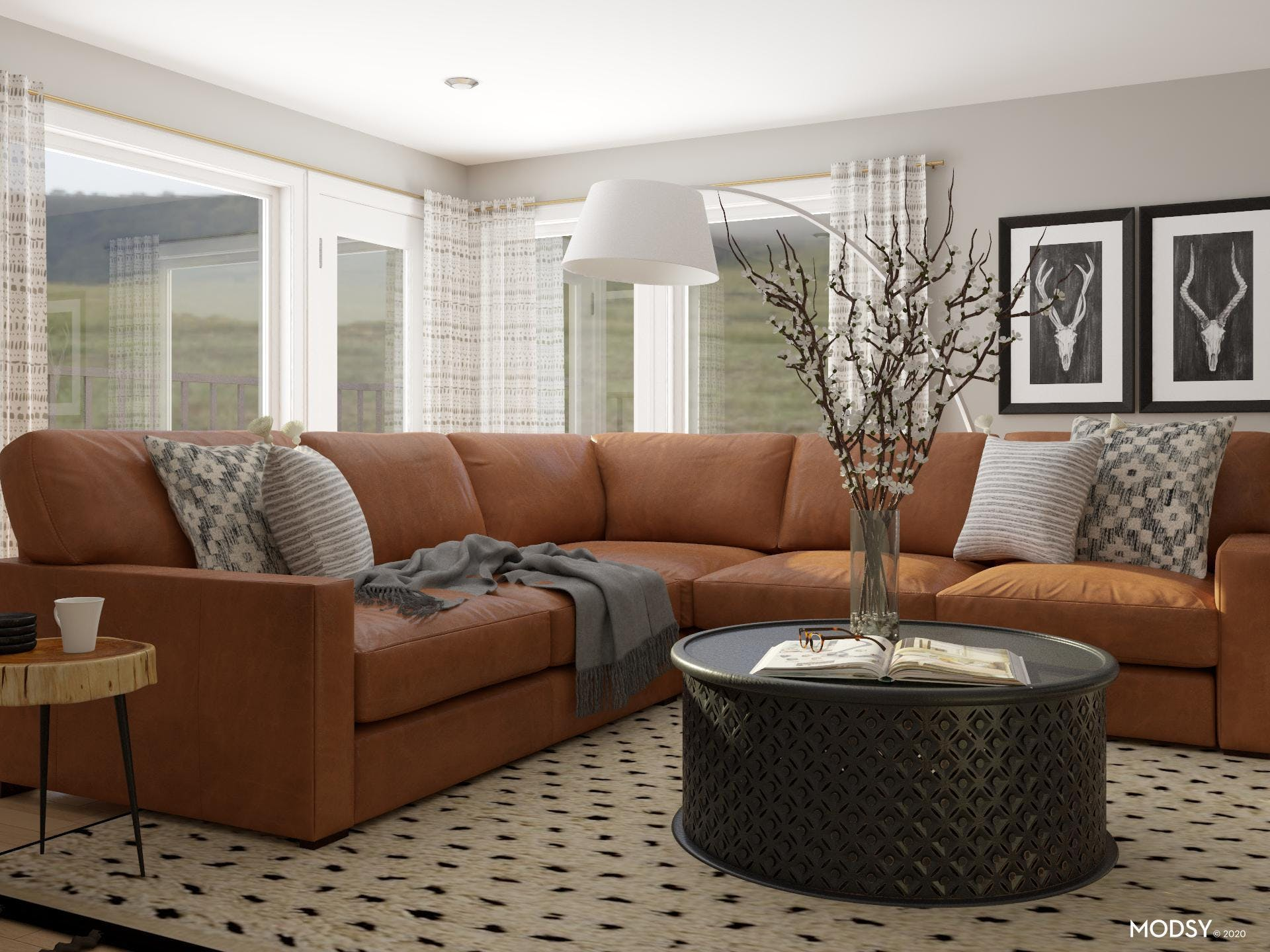 Leather Sectional: Fall In Love