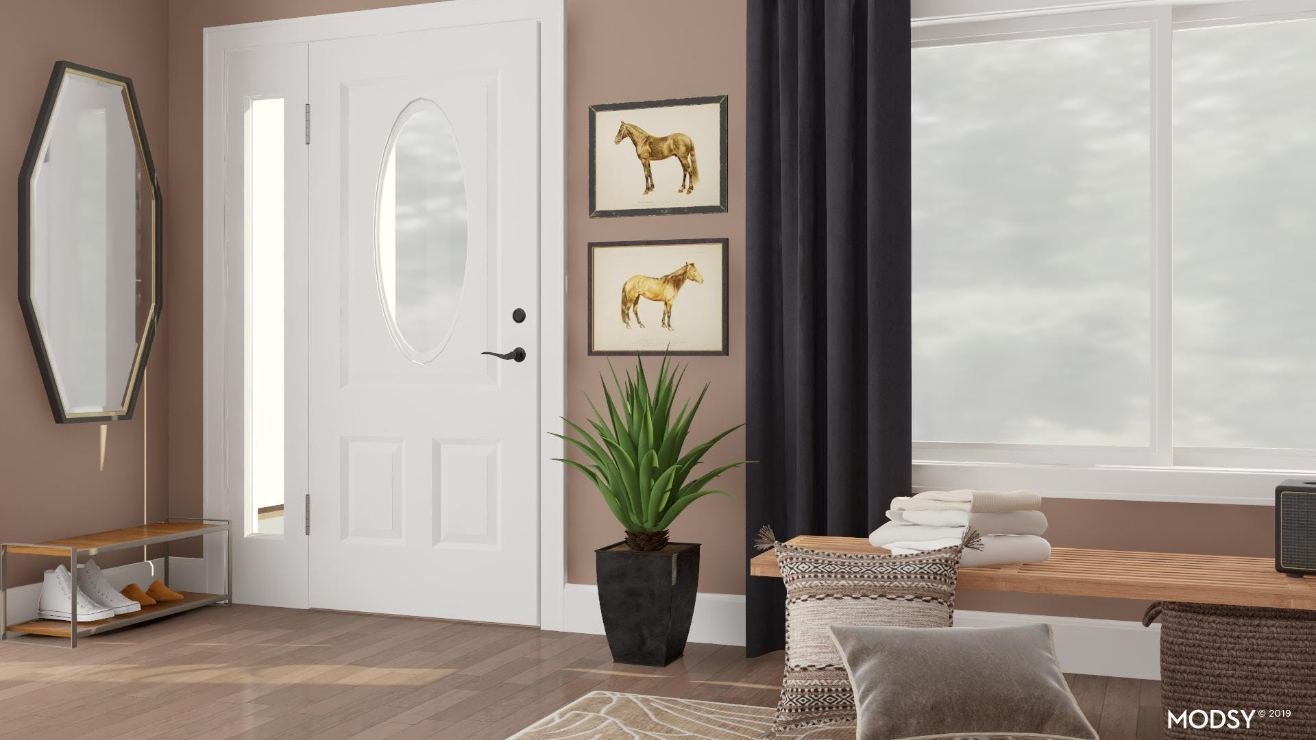 Contrast in the Entryway