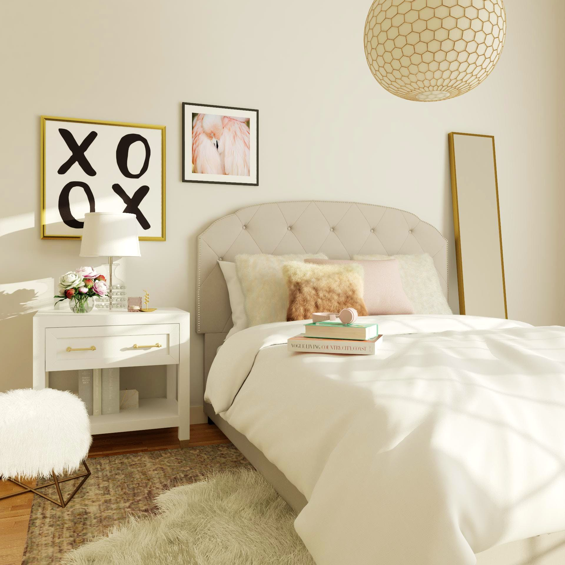 Teen Fashionista Fantasy Bedroom