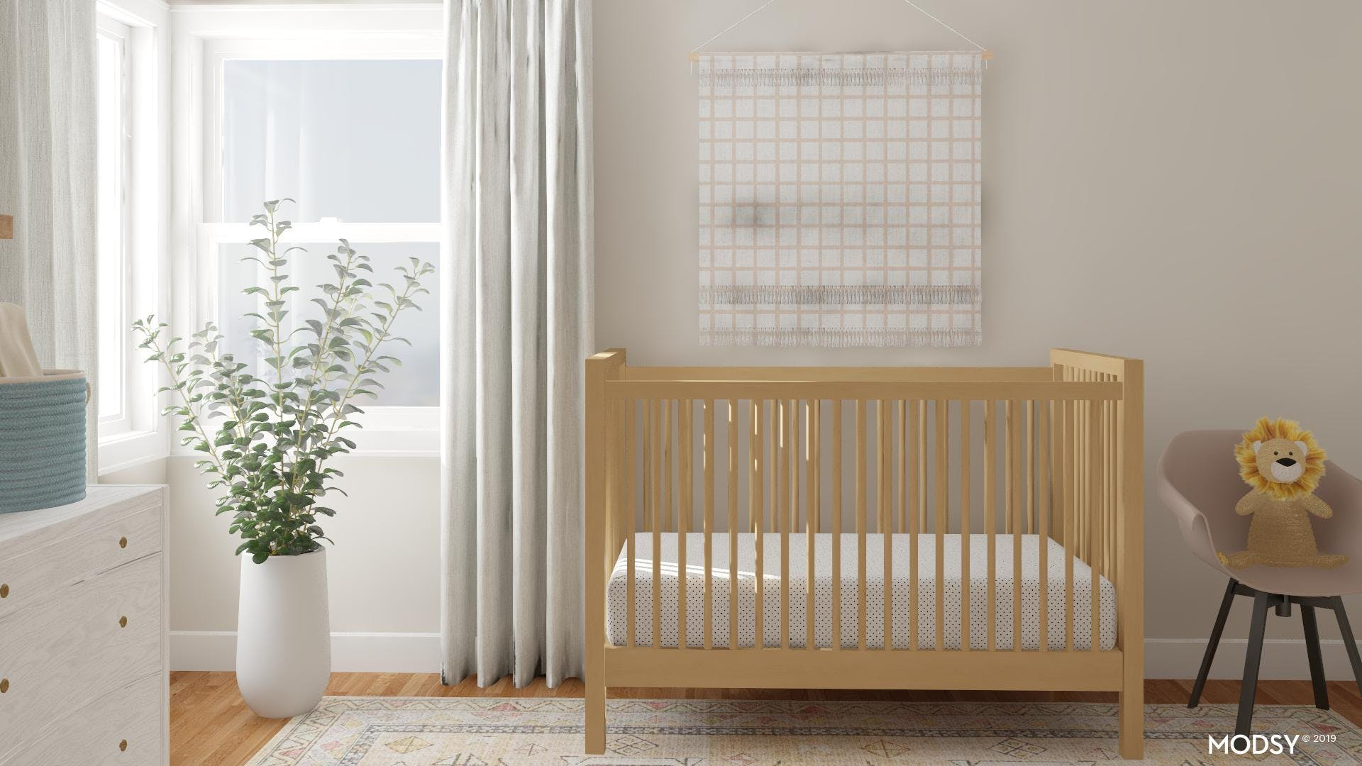 Soft And Simple: Eclectic Nursery