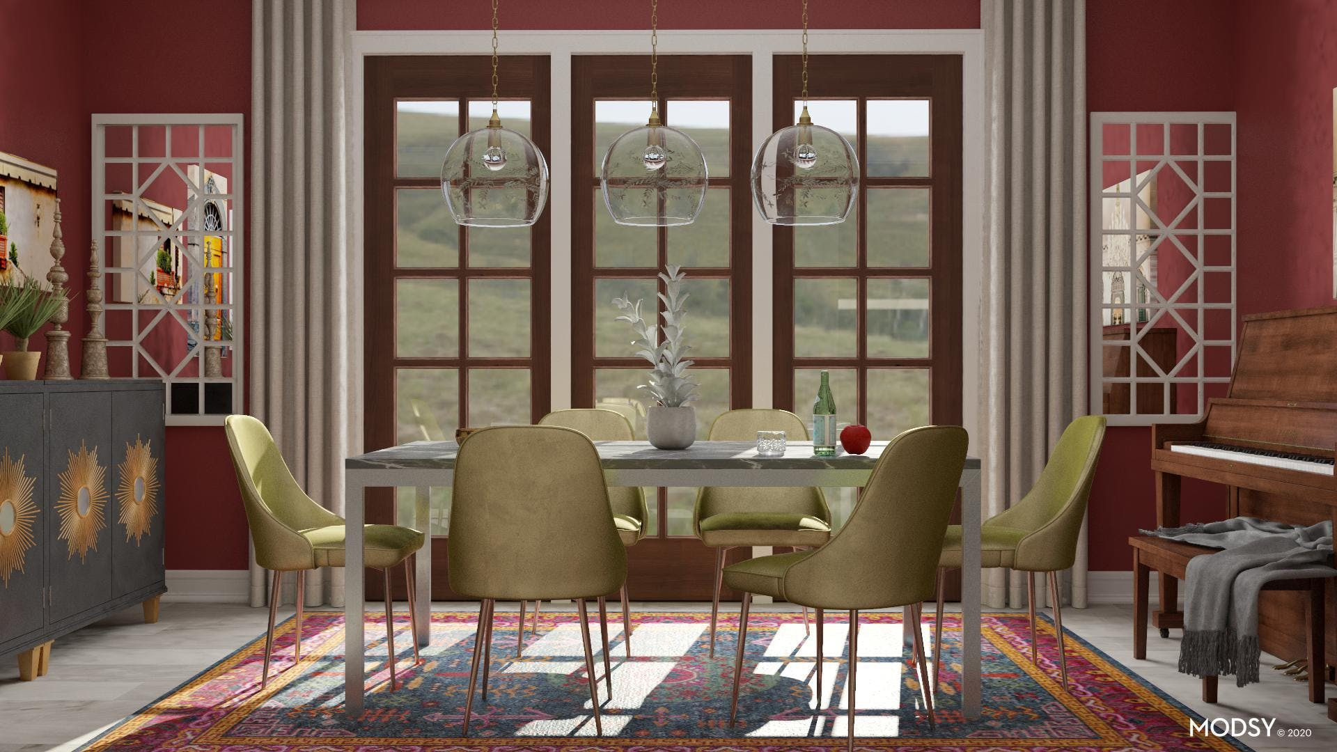 A Musical: Eclectic Dining Room