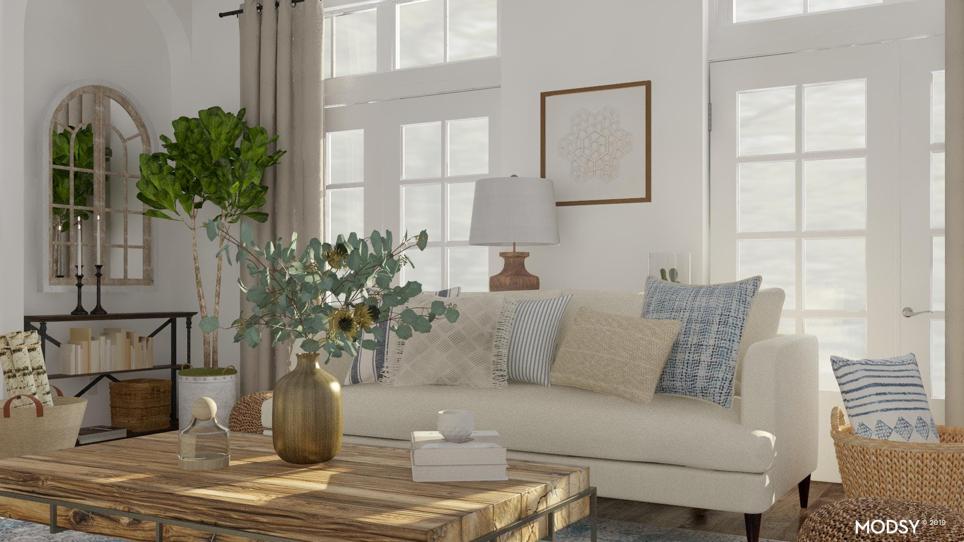 Refined Rustic With A Neutral Spin