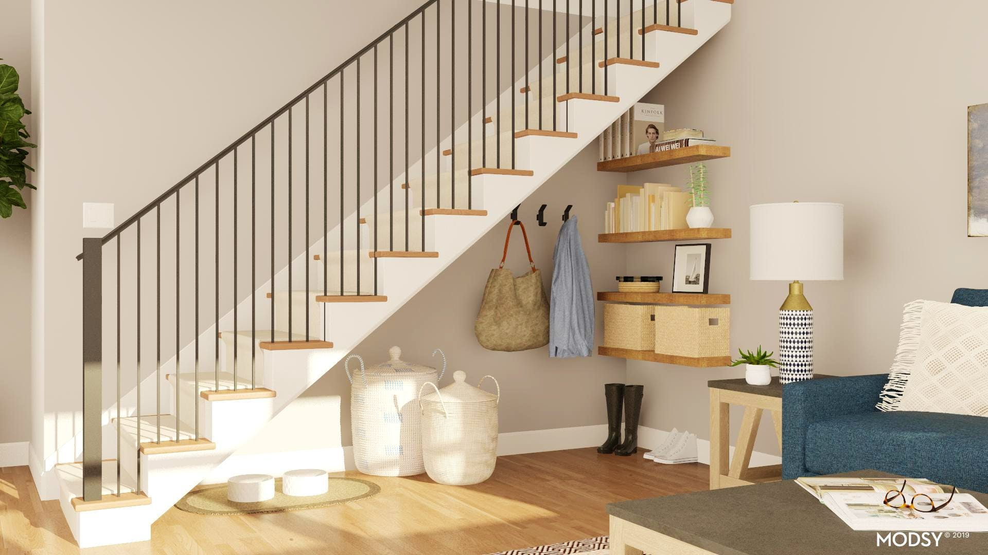 Get Chic Under The Stairs