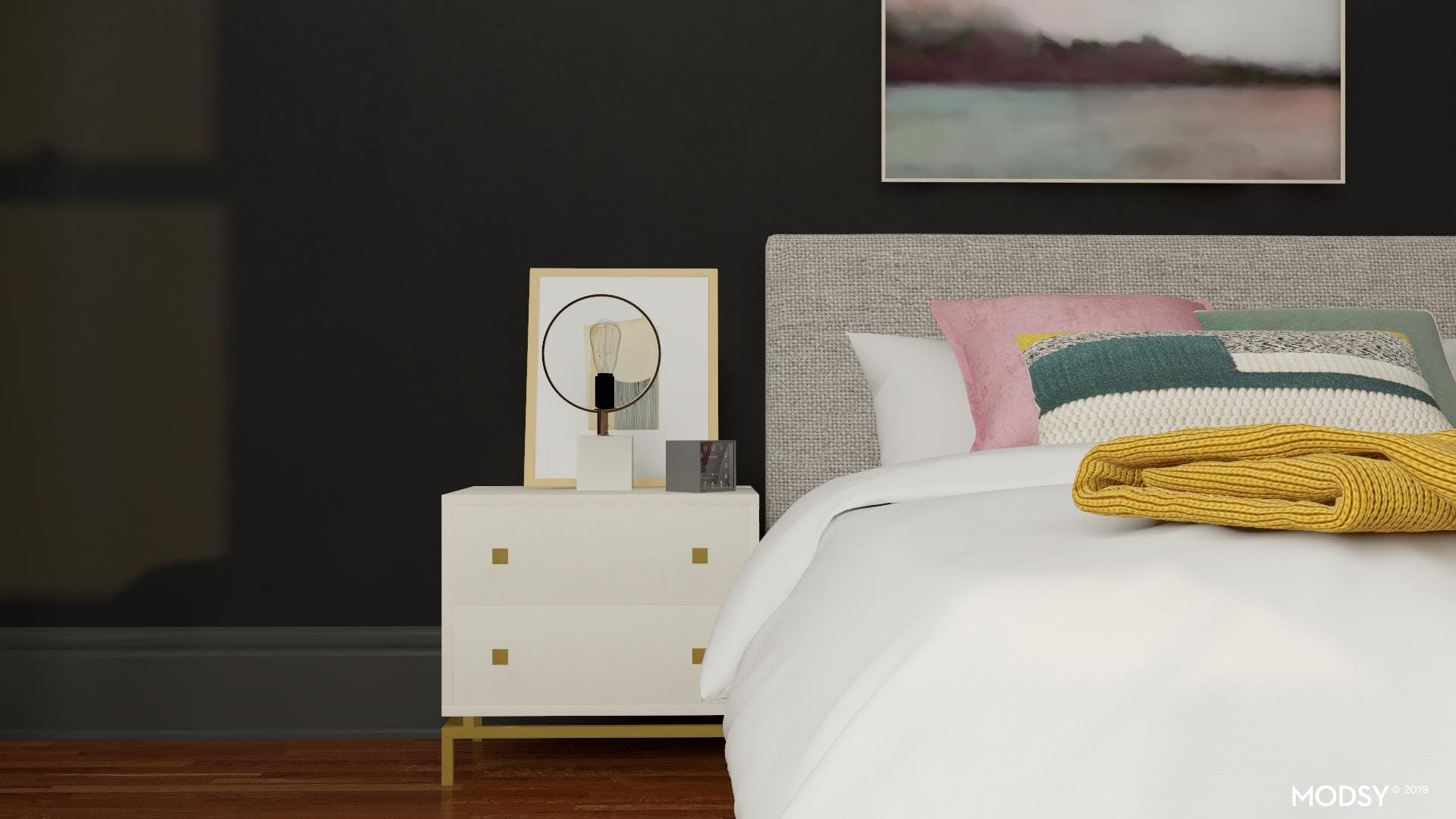 Modern Colorful Jewel Tone Accents