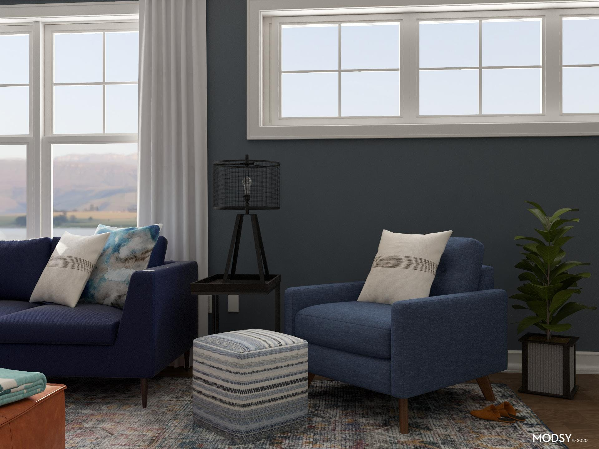 Blue Eclectic Living