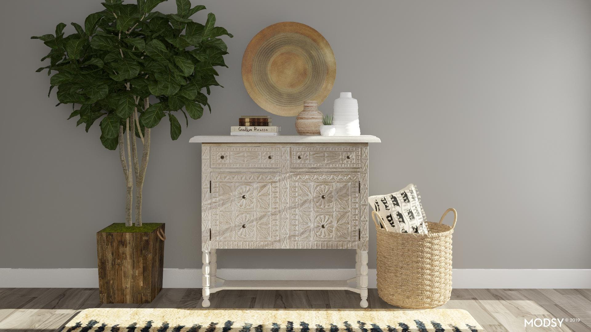 Timeless Style: Carved Wood