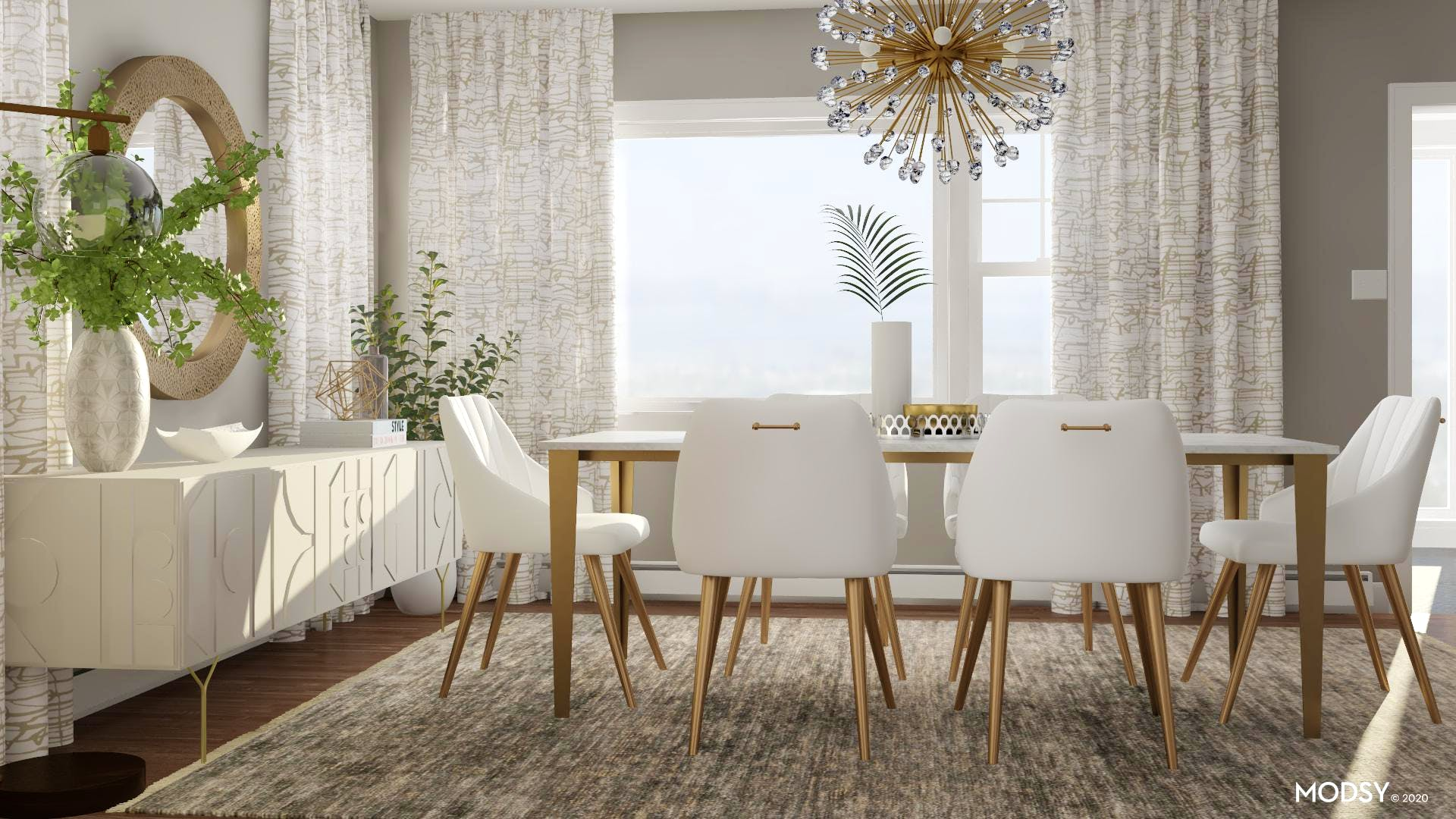A Glamorous Dining Room For Everyone