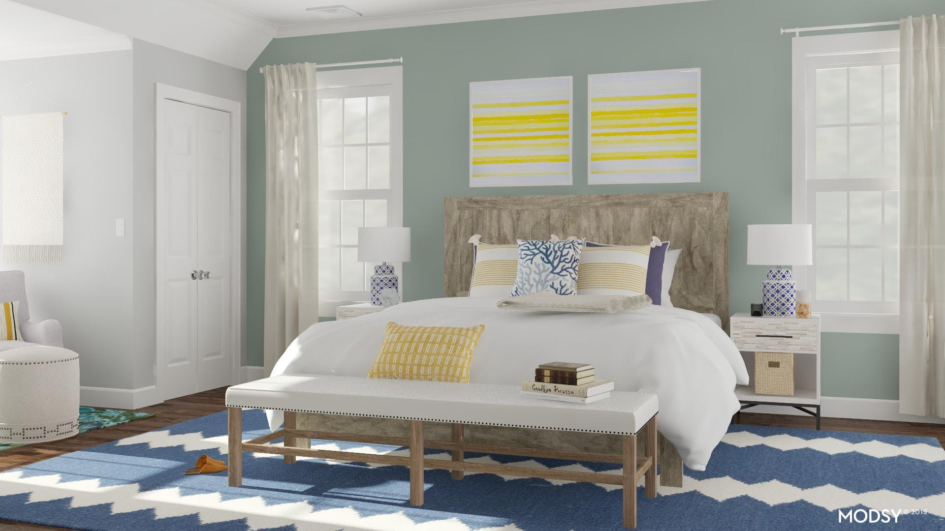 A Bright Coastal Room