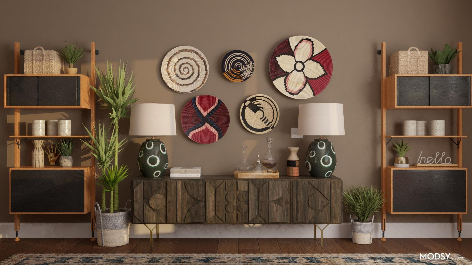 Eclectic Storage Options
