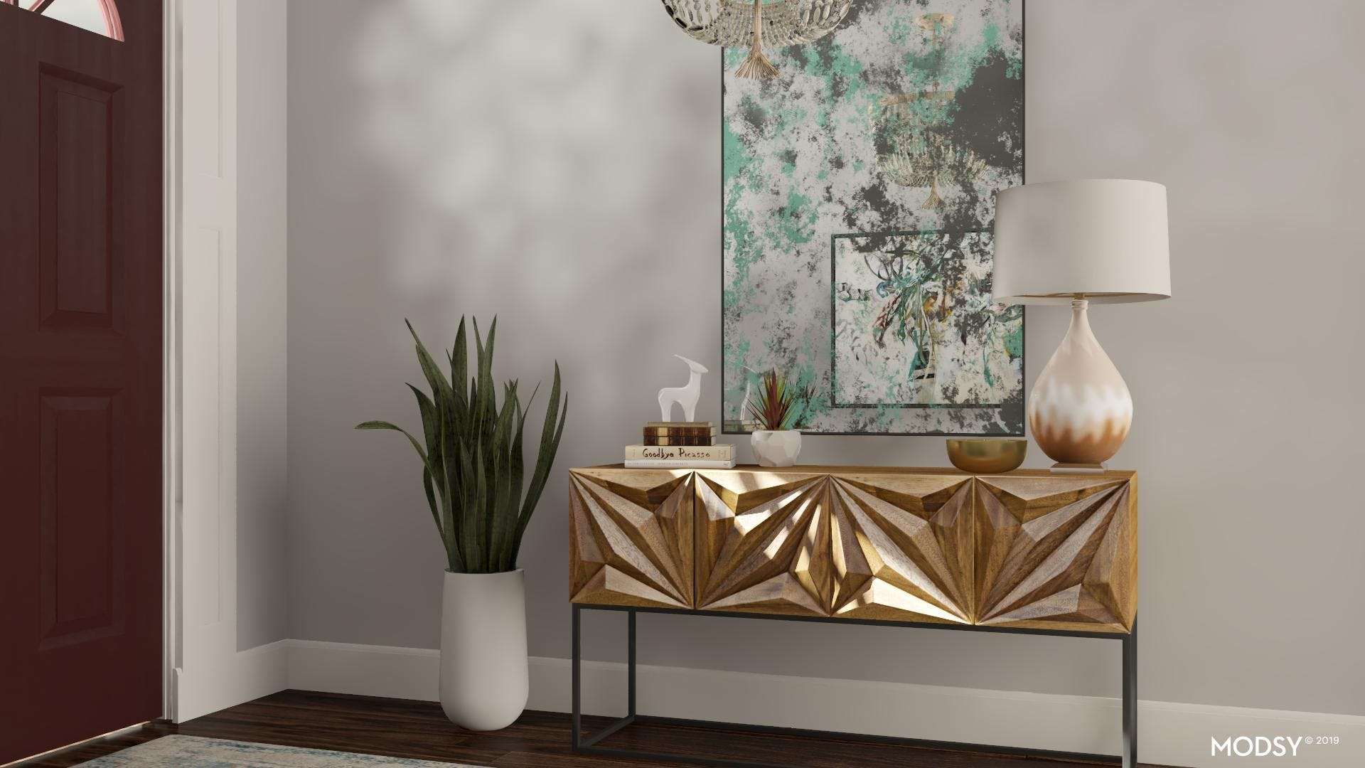 Showstopping Console Table