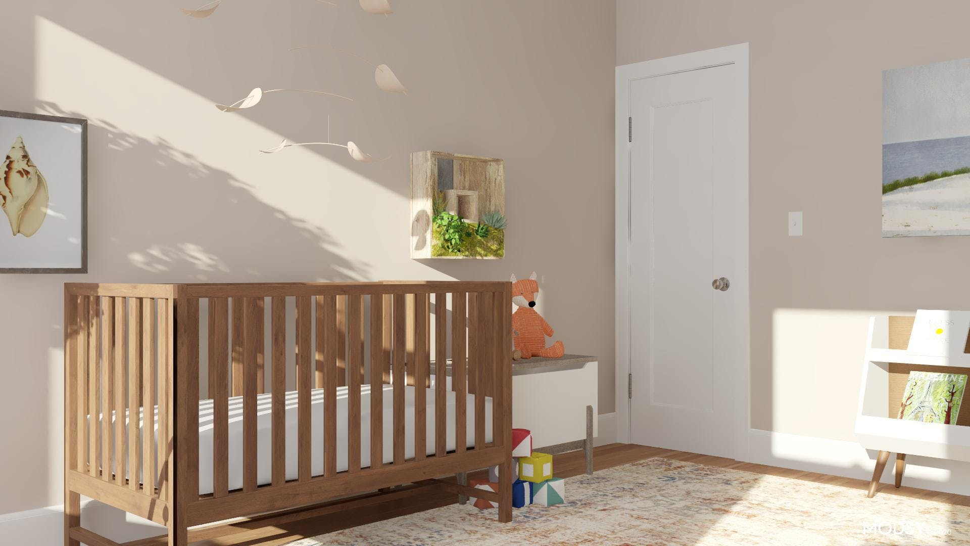 Rustic Nursery with Extra Charm