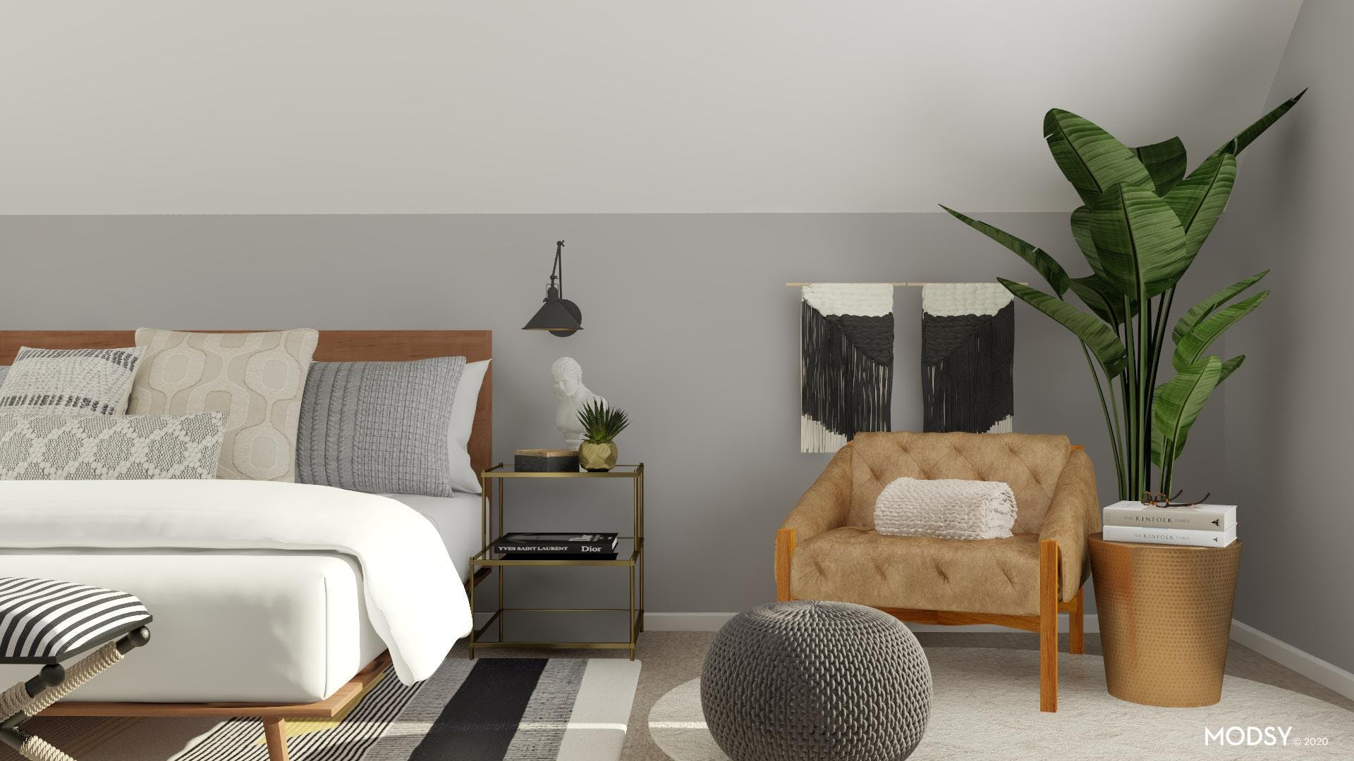 How to create an eclectic reading nook to your bedroom