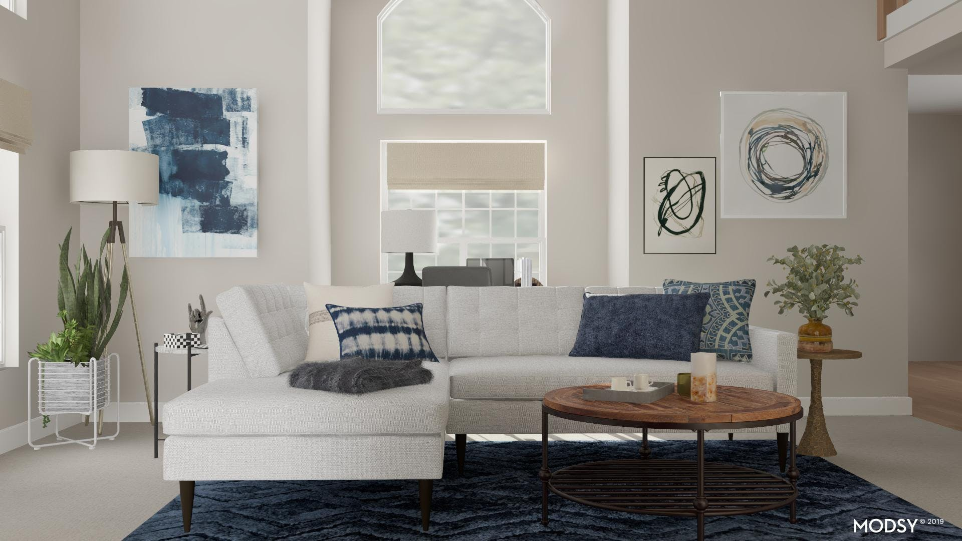Eclectic Material Blends: Industrial