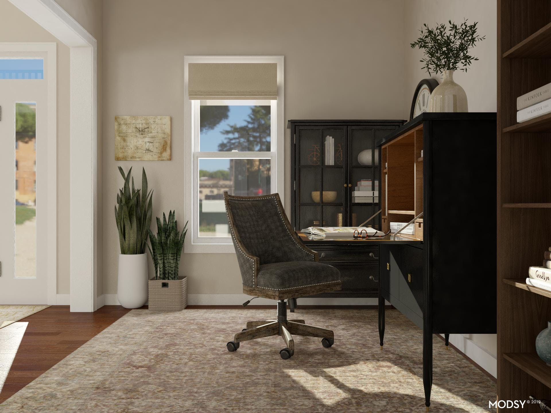 Professional Traditional Workspace