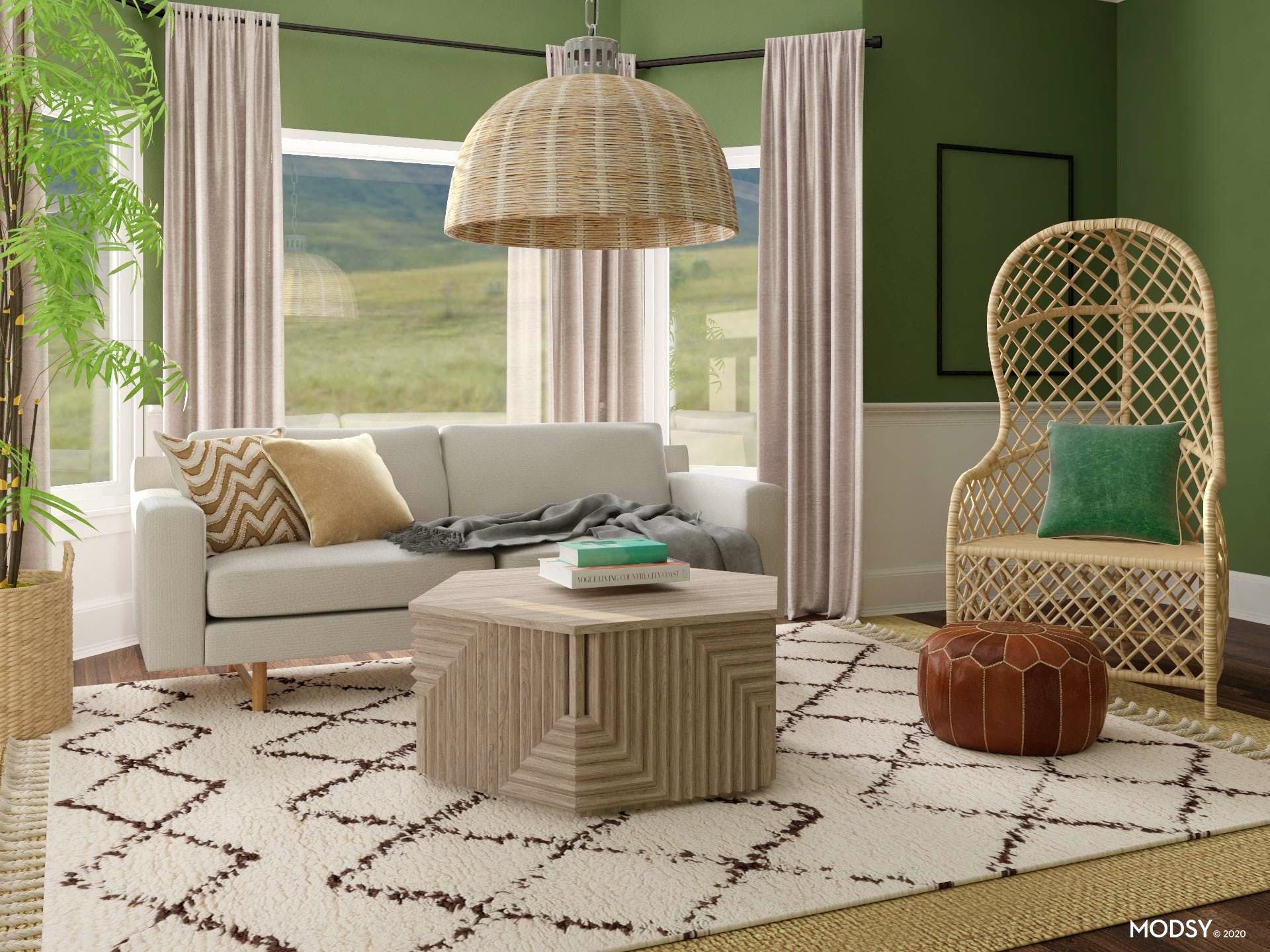 Earthy And Eclectic Design
