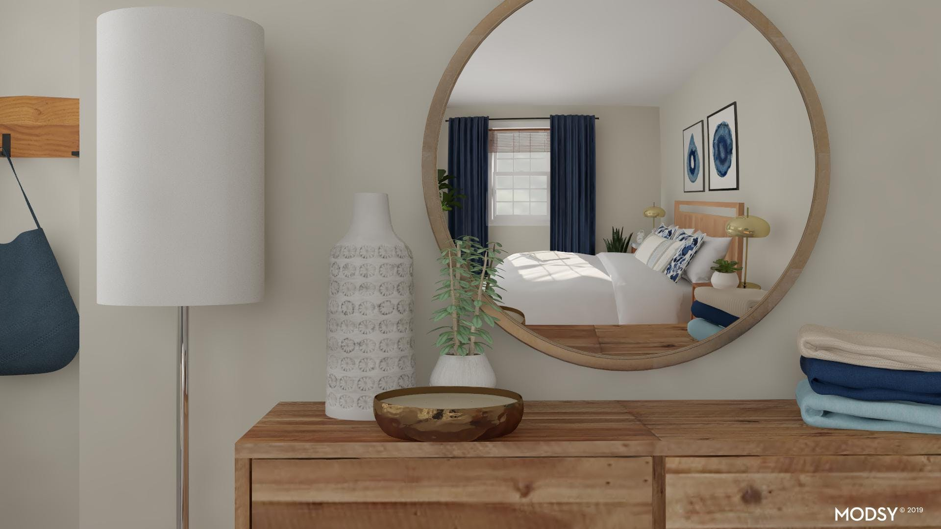 Closeup: Minimal Styling For A Modern Bedroom