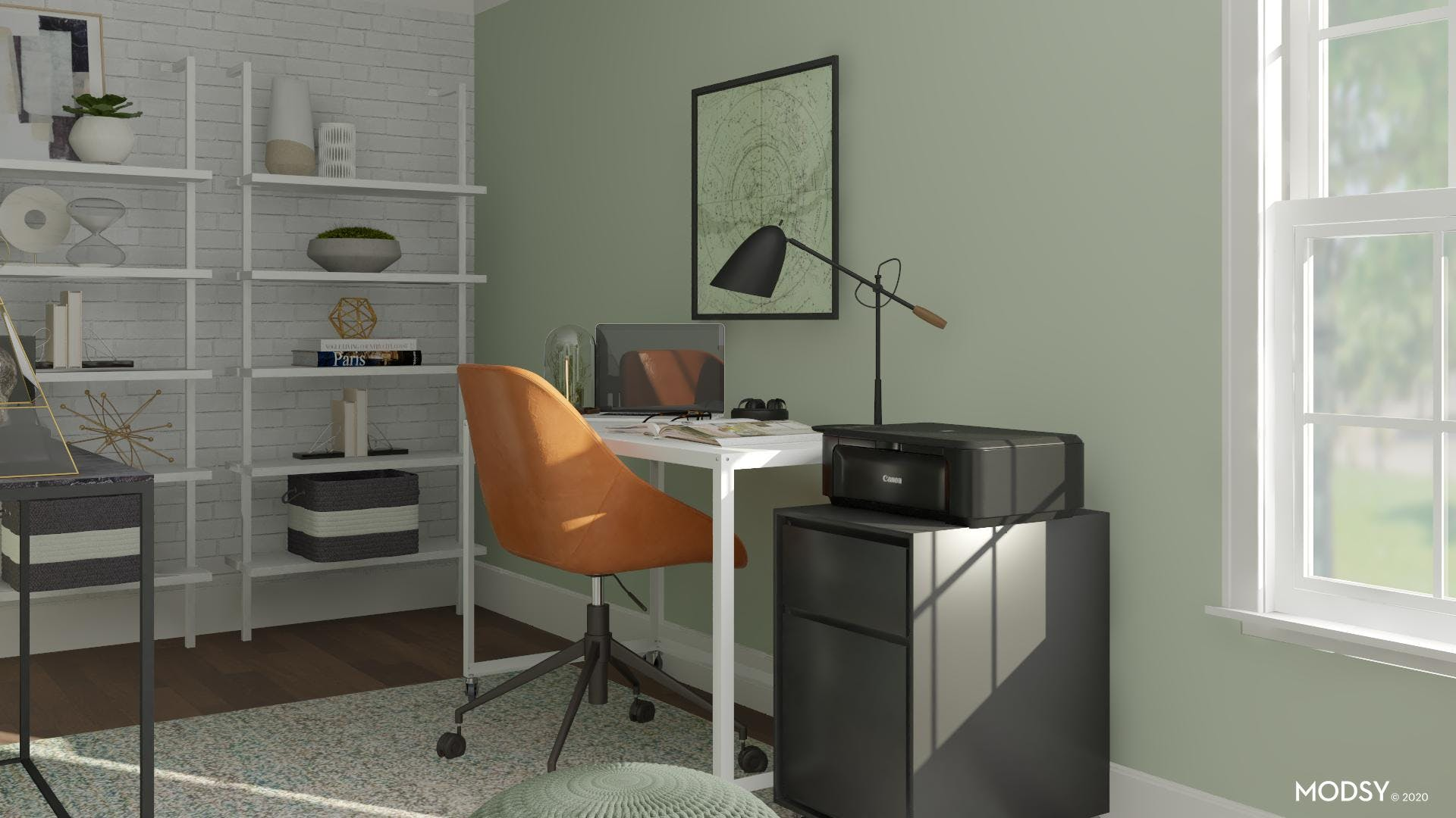 Contemporary Green Office