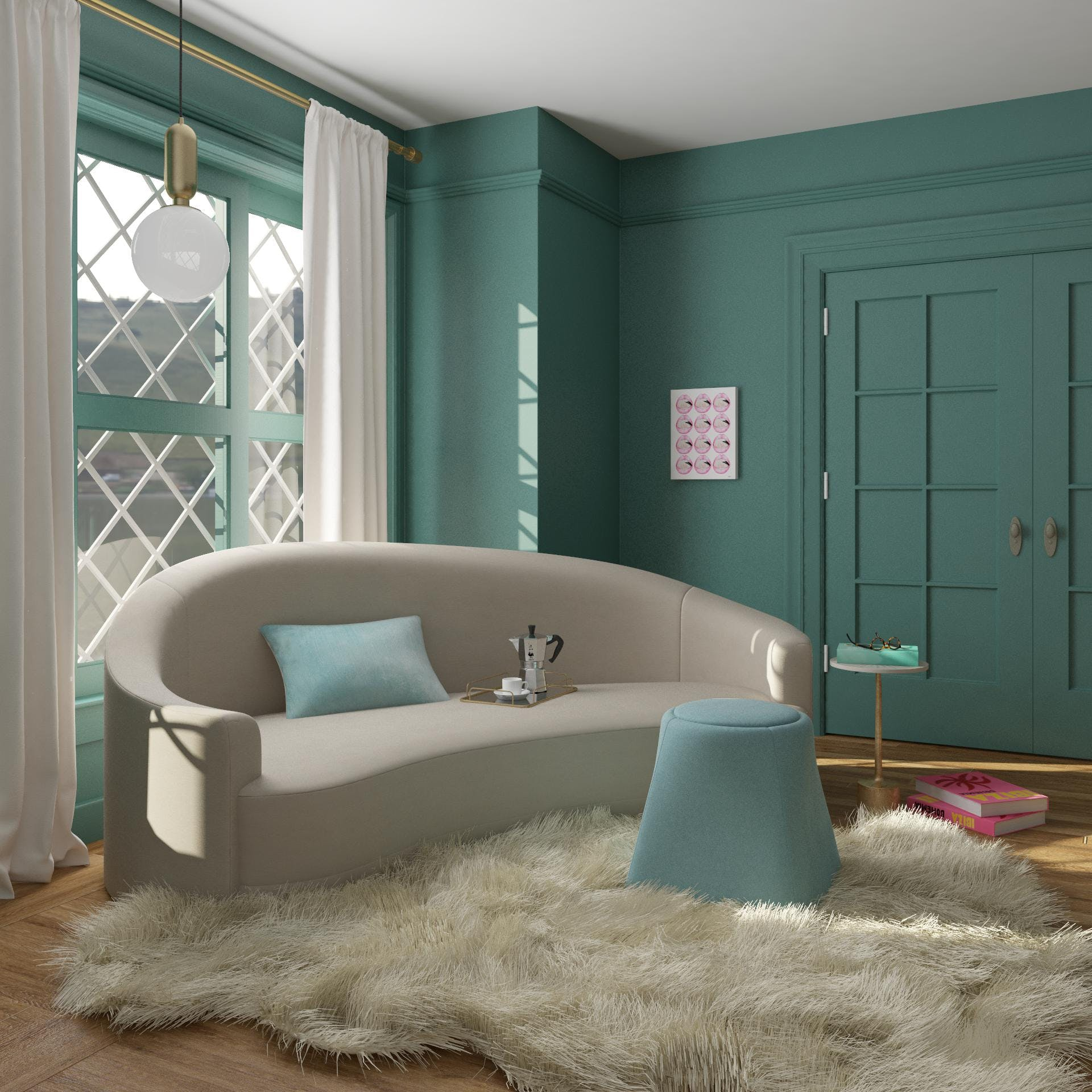 A Reading Nook Fit For Tiffany's
