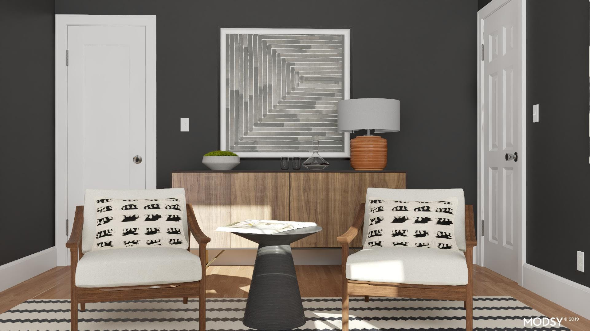 Office Credenza: Mid-Century Moments