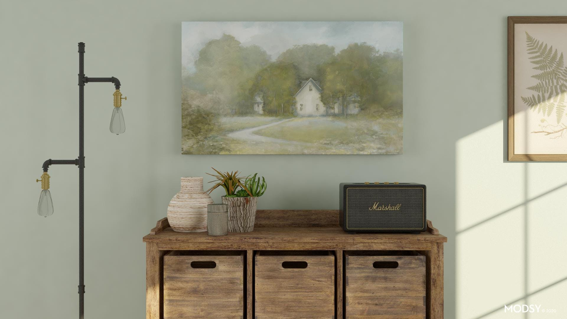 Rustic Lighting: Antiqued Touch