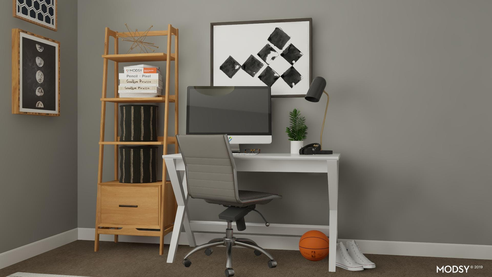 Hot Spot for Homework with a minimalist touch.