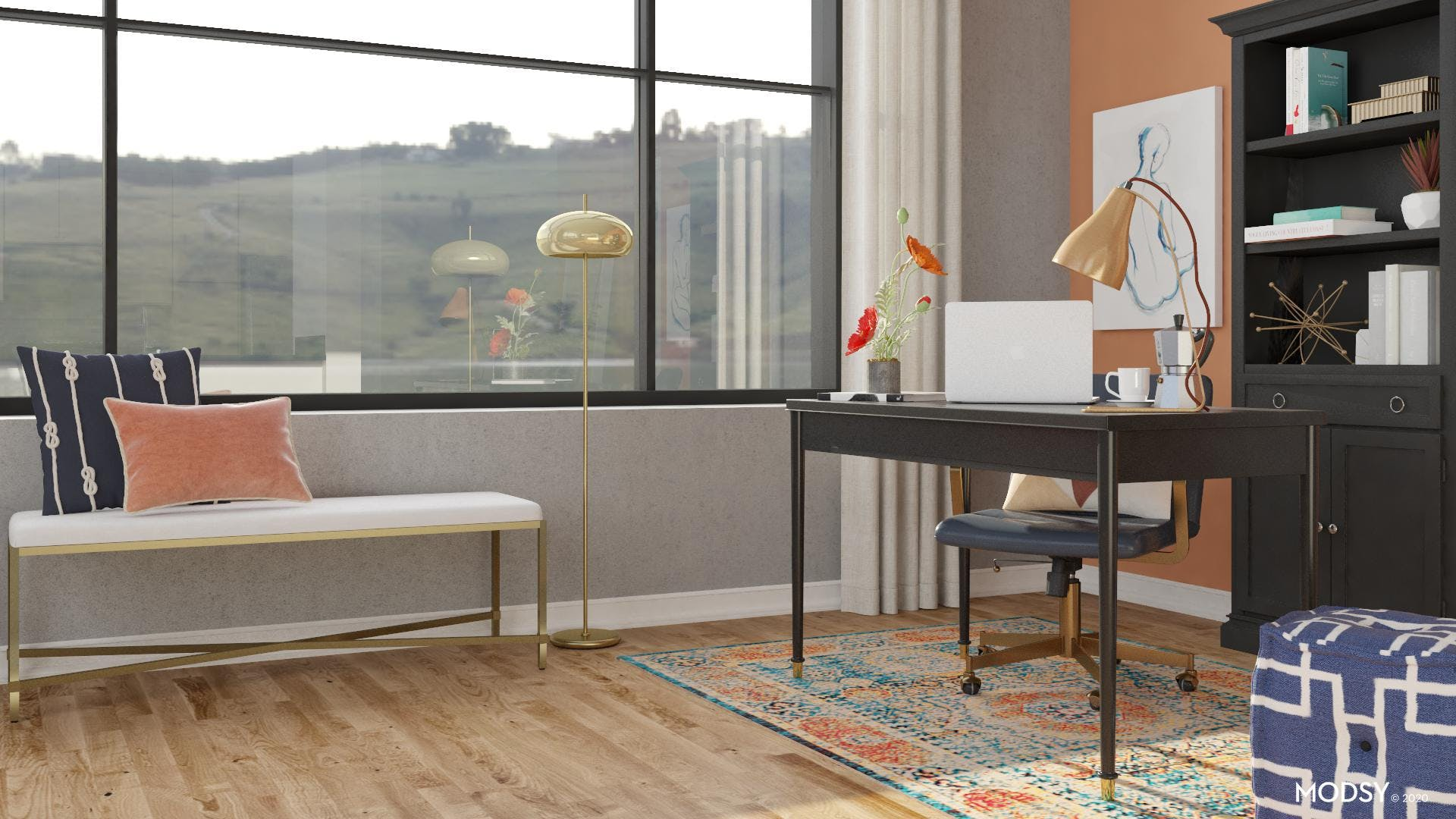 Simple Transitional Office