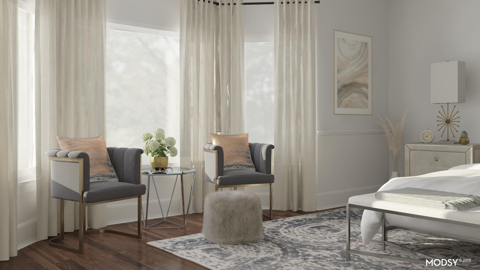 Chic Seating Nook