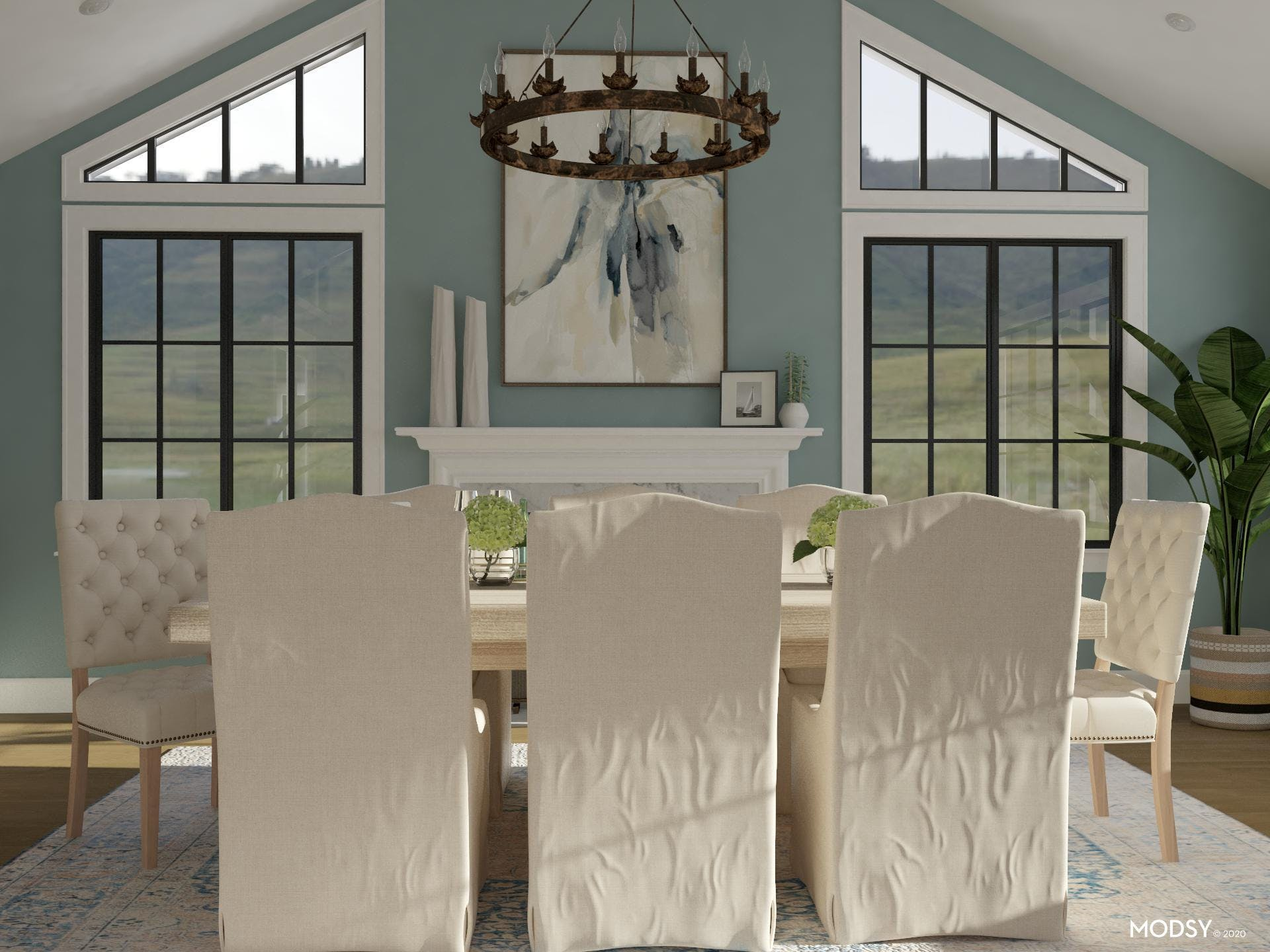 Weathered Woods: Rustic Dining Room