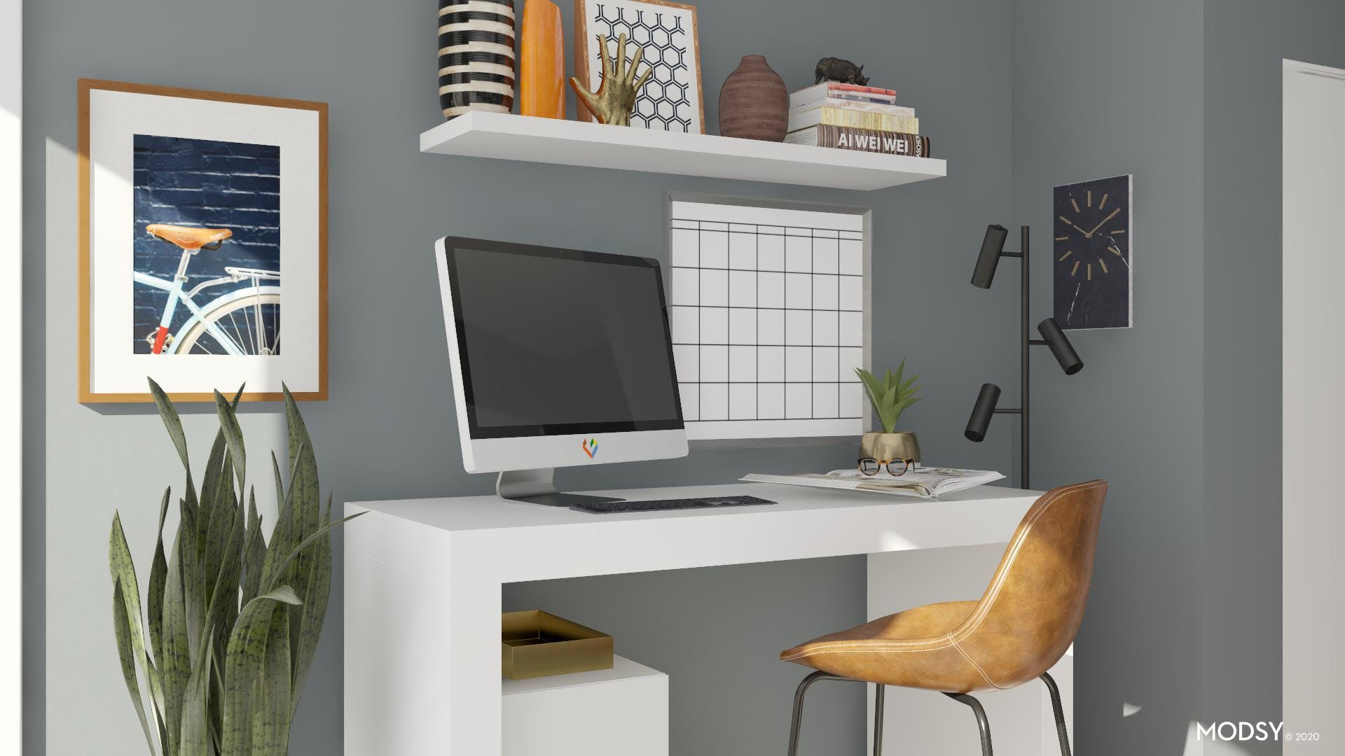 Apartment Office Nook