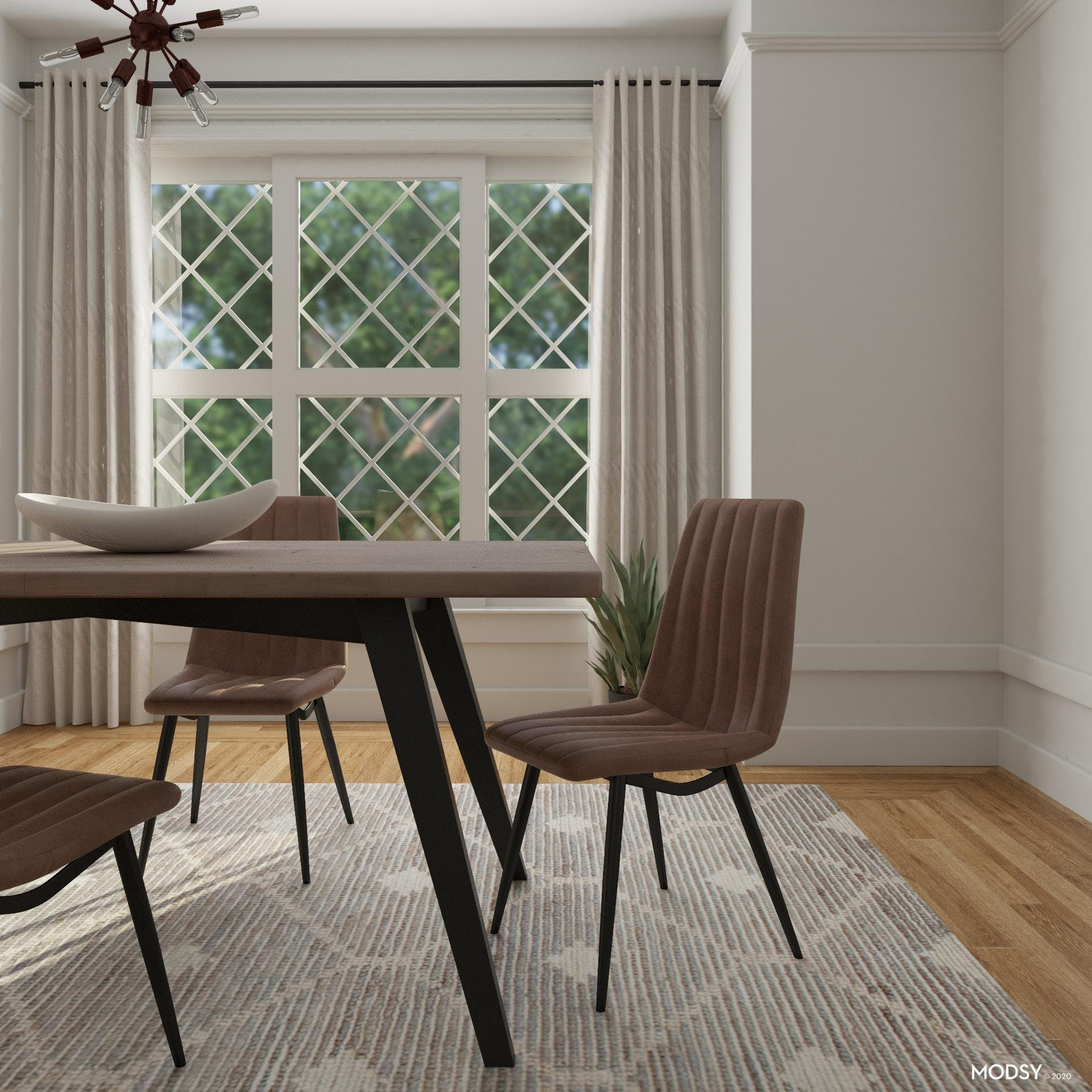 Chic and Easy Quilted Dining Chairs