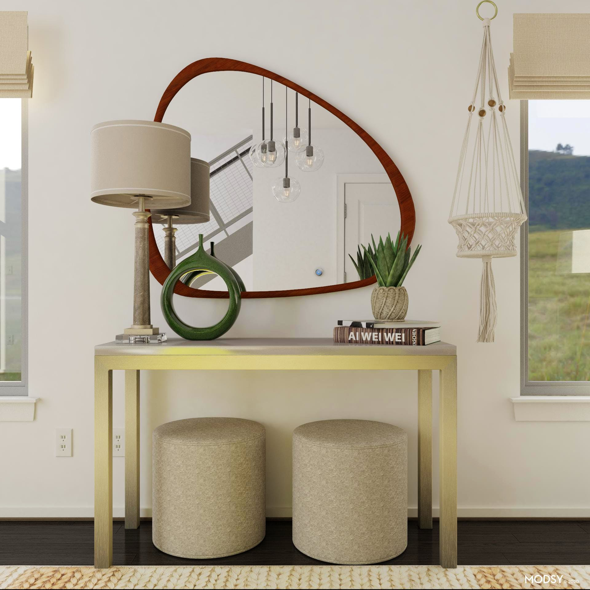 Modern Dining Room Console | Modern-Style Dining Room ...